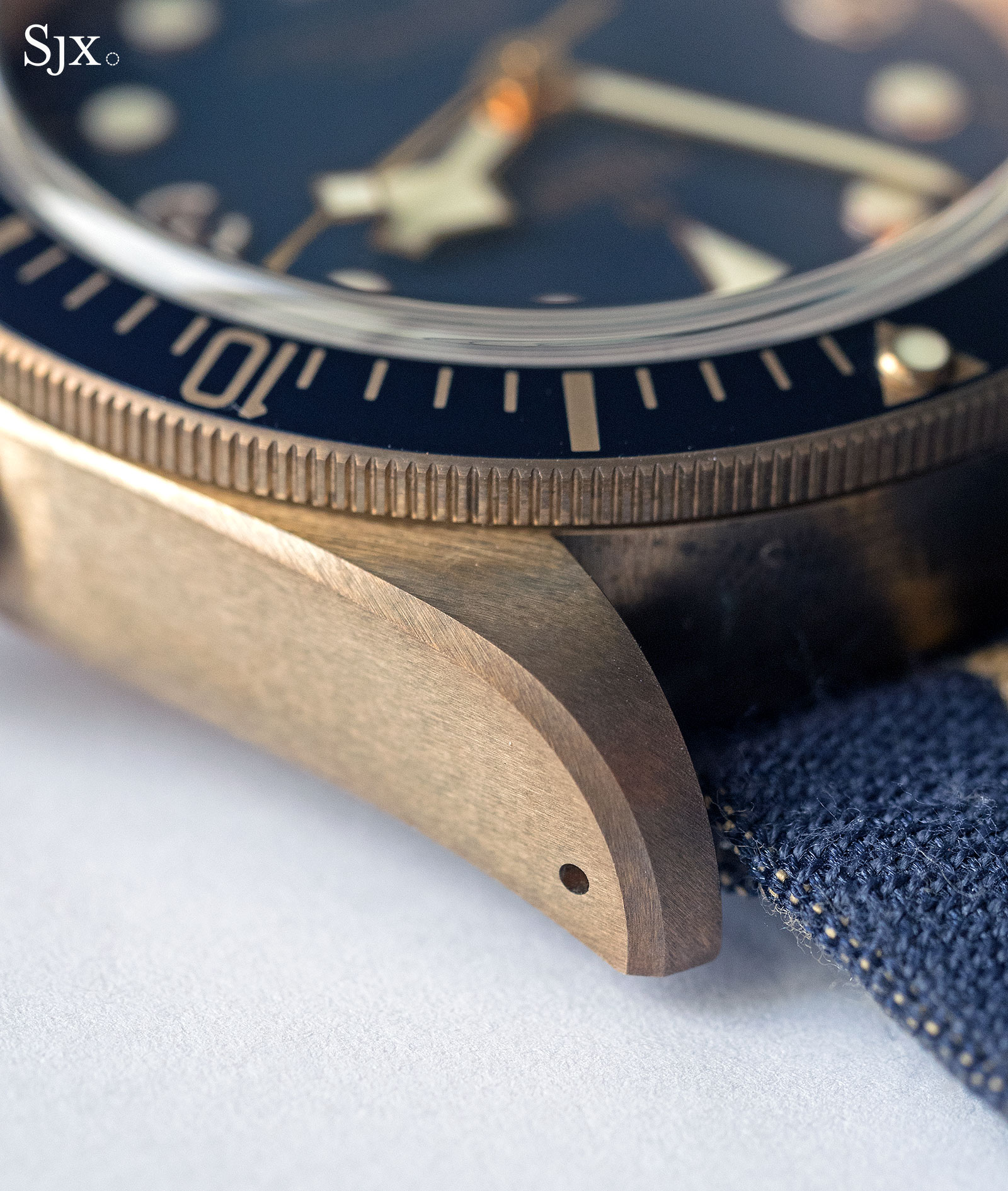 Tudor Black Bay Bronze Bucherer Blue 5