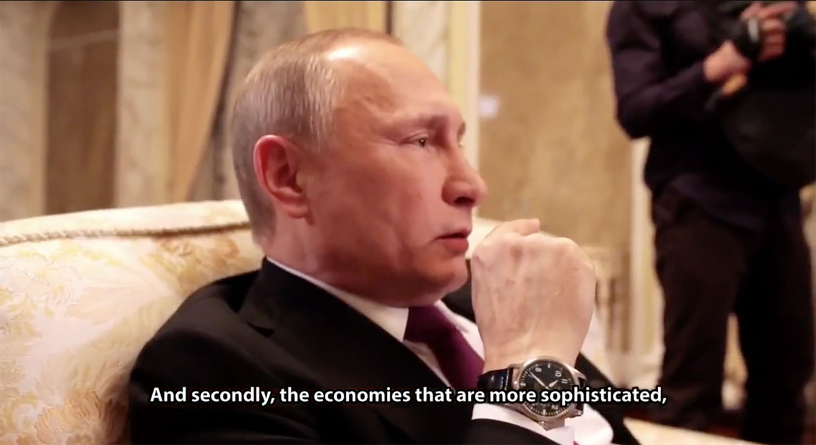 Watch Spotting Vladimir Putin And His Iwc Mark Xvii Sjx Watches