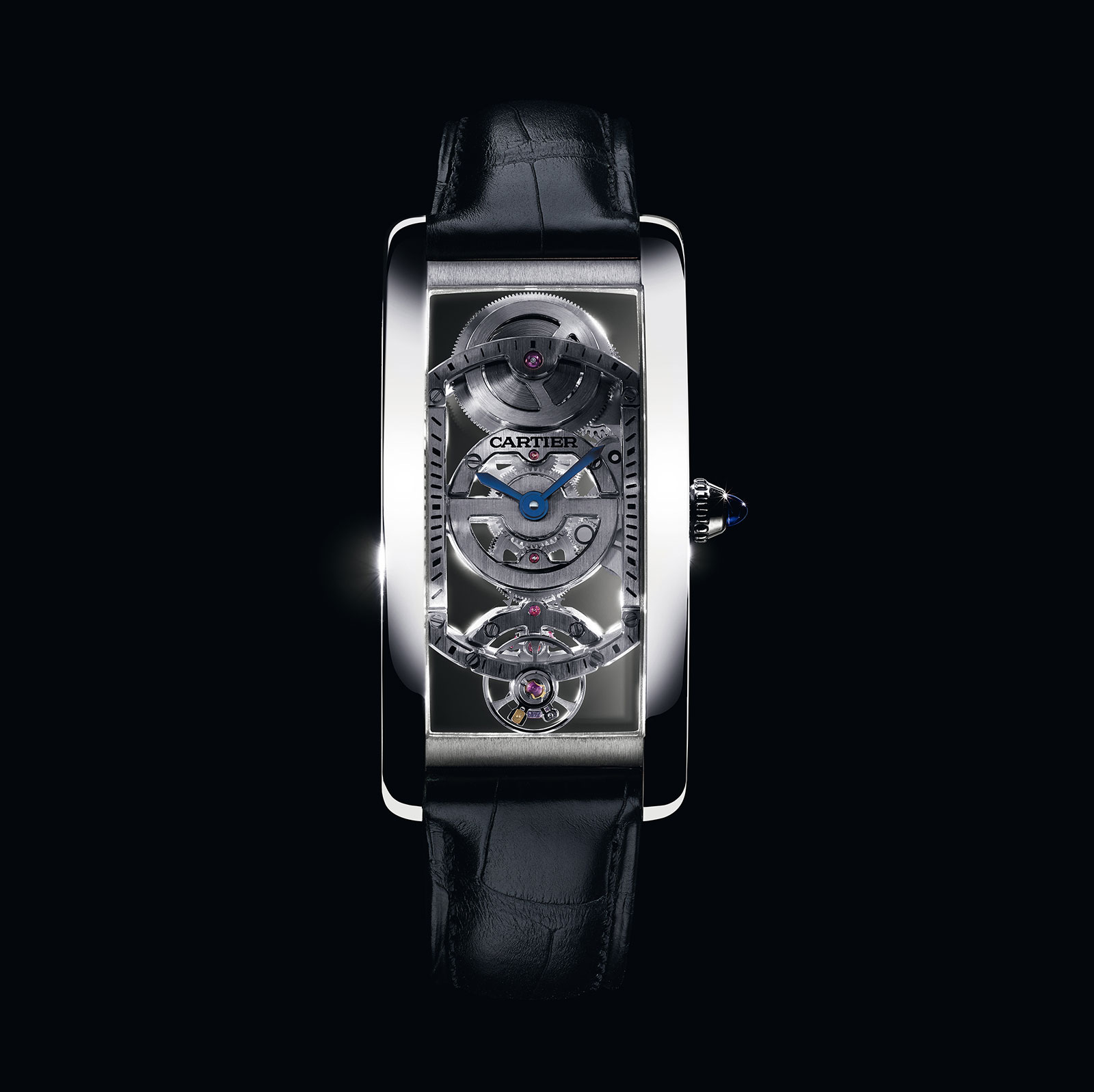 Cartier Tank Cintree Skeleton 3