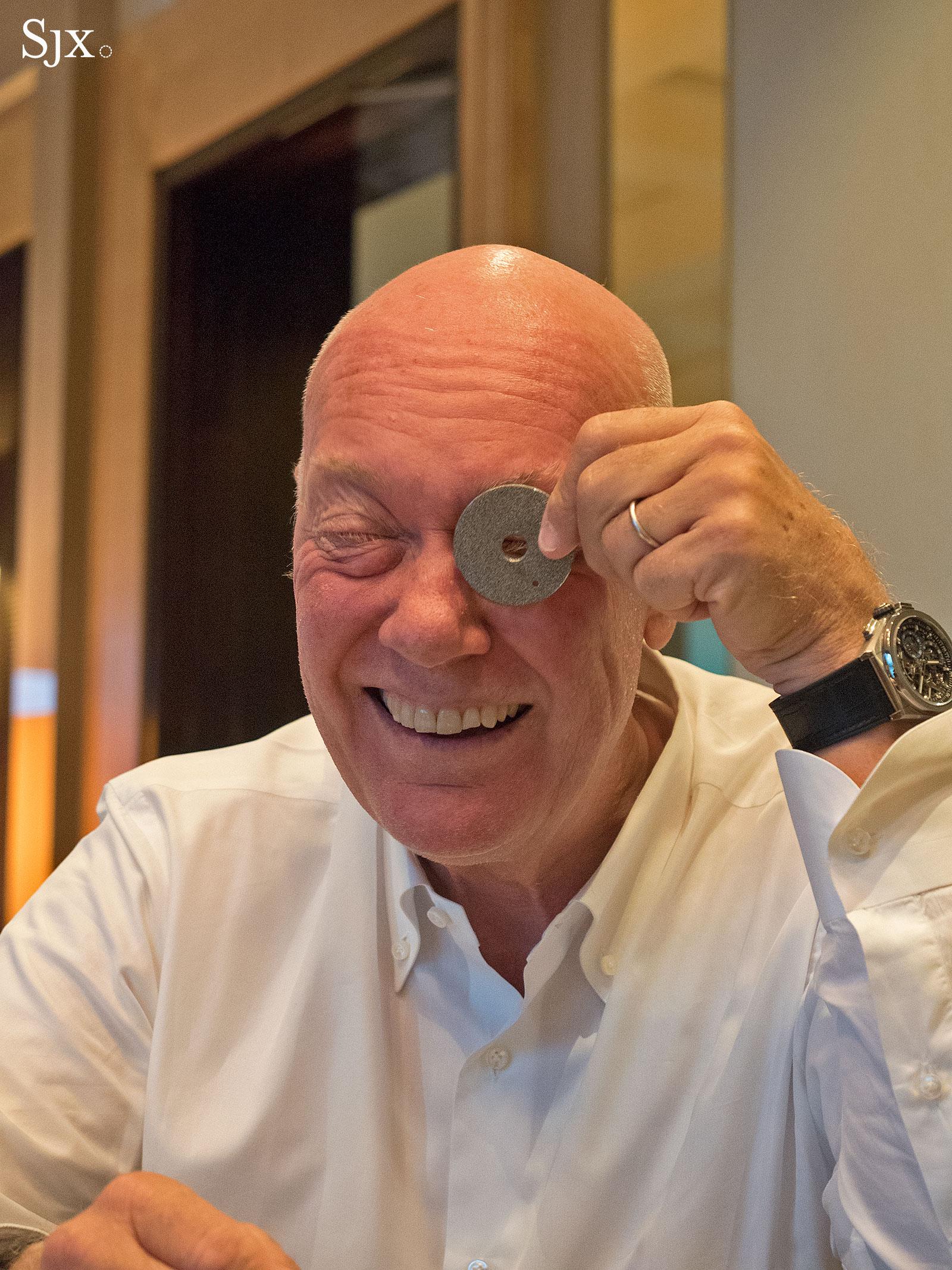 Jean Claude Biver Zenith June 2017 2