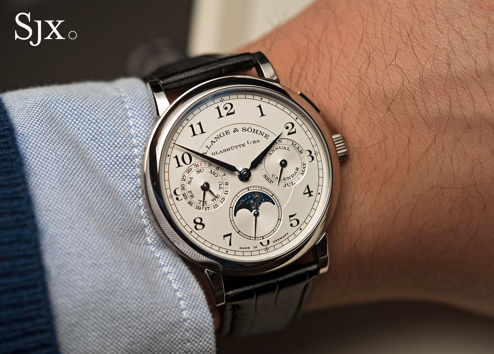 Lange 1815 Annual Calendar white gold 10