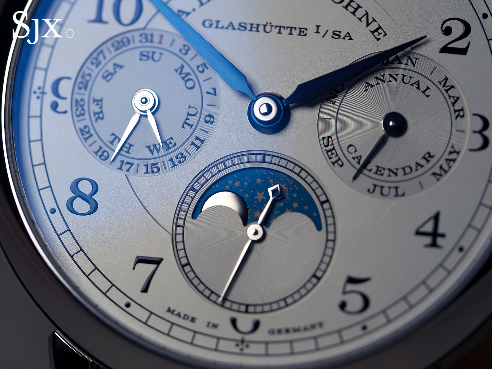 Lange 1815 Annual Calendar white gold 4