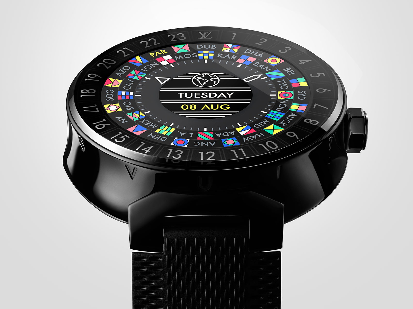 Louis Vuitton Introduces the Tambour Horizon Smartwatch ...
