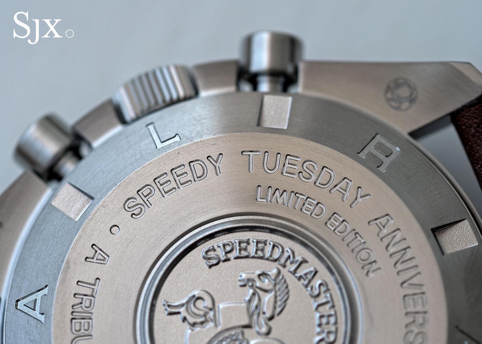 Omega Speedmaster Speedy Tuesday review 9
