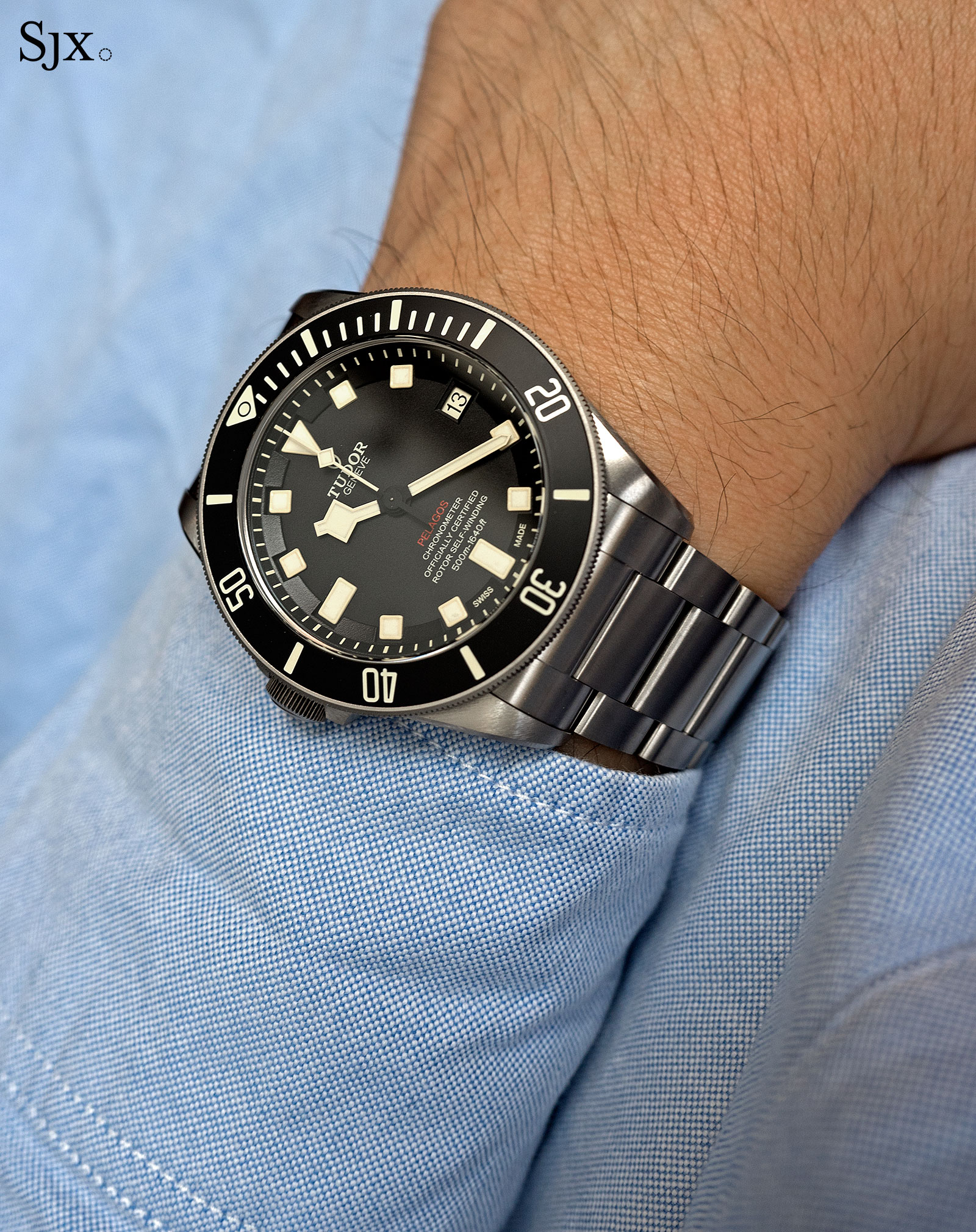 The Start Of Something Big >> Getting on the Right Side of the Left-Handed Tudor Pelagos | SJX Watches