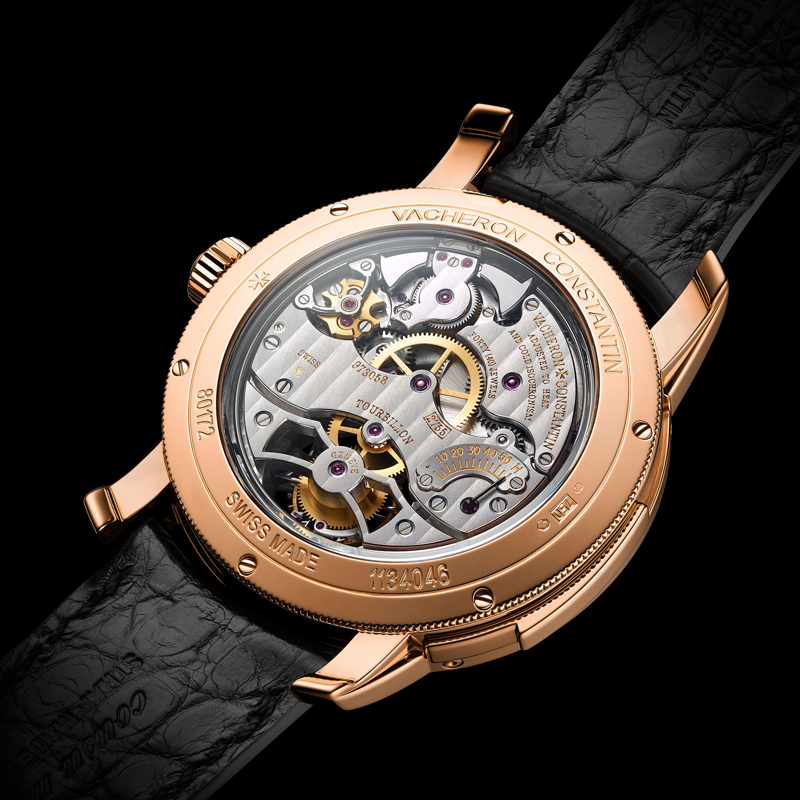 Vacheron Constantin Traditionnelle collection pink gold slate grey dial 4
