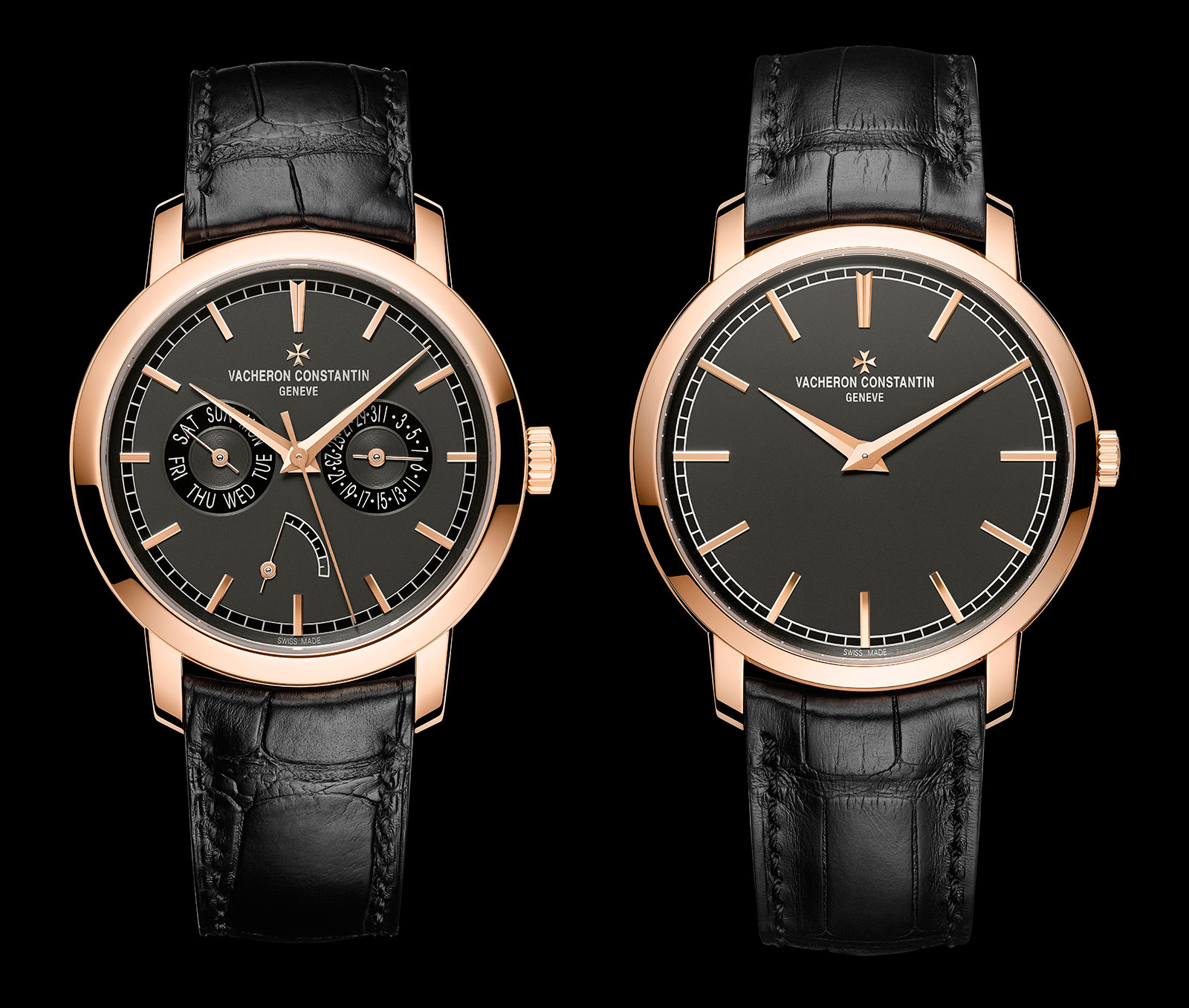 Vacheron Constantin Traditionnelle collection pink gold slate grey dial 5