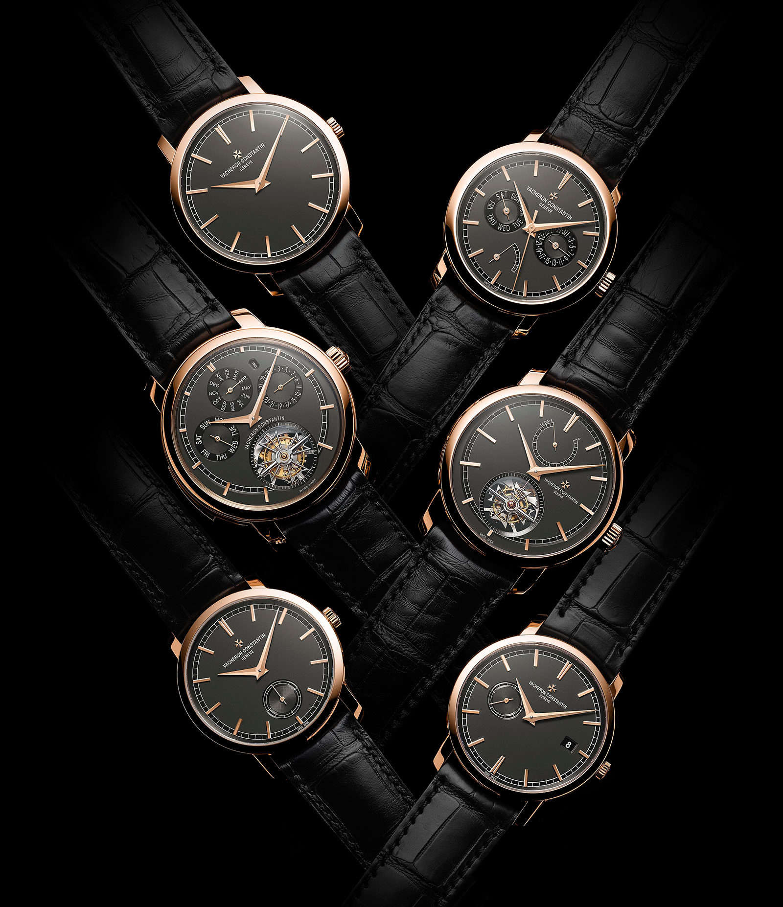Vacheron Constantin Traditionnelle collection pink gold slate grey dial 7