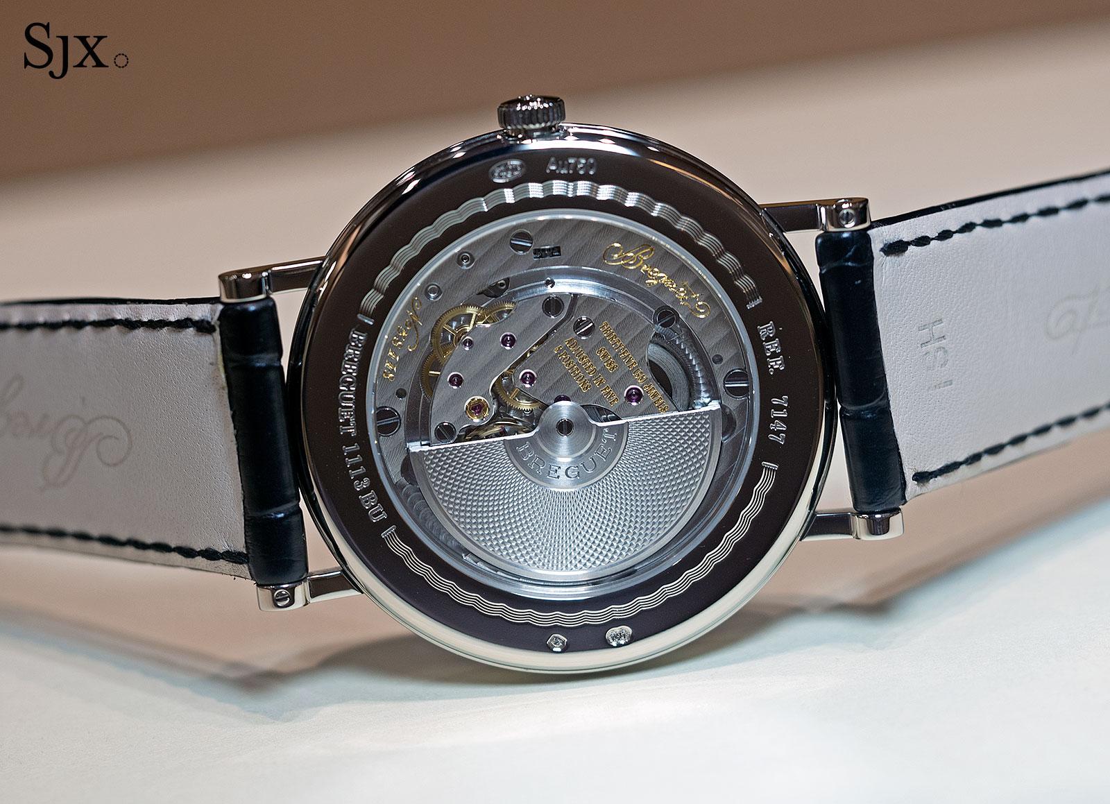 Breguet Classique 7147 enamel dial 13
