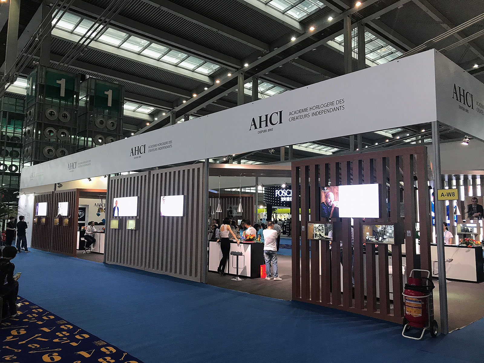 CWCF 2017 AHCI booth
