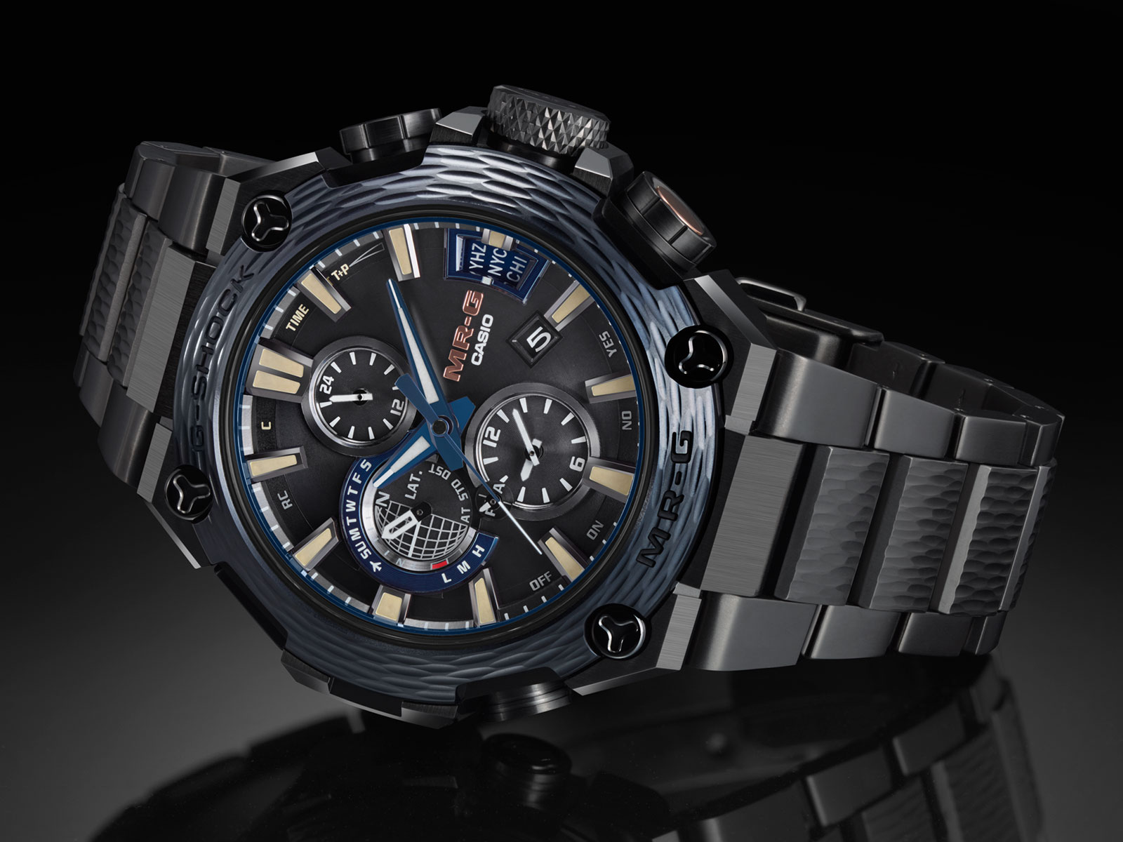 Introducing The G-Shock MR-G: The Future Of Advanced Luxury Timepieces
