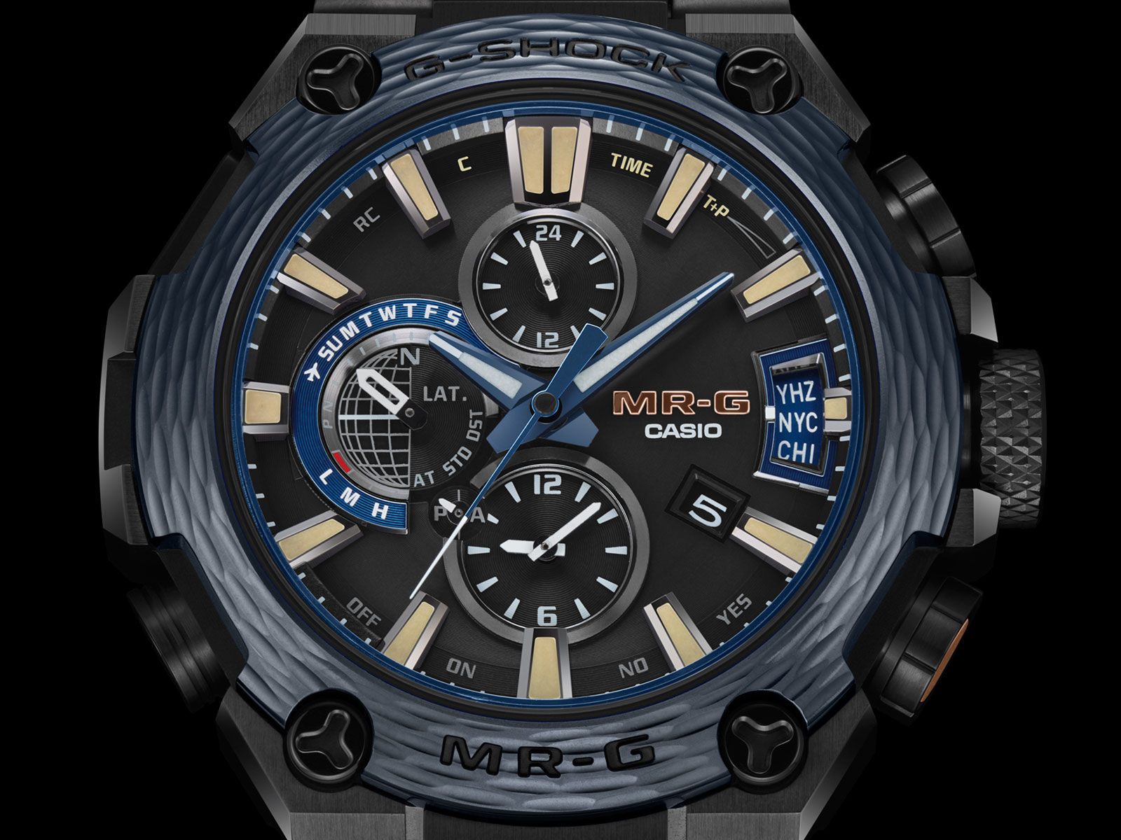 images Introducing The G-Shock MR-G: The Future Of Advanced Luxury Timepieces