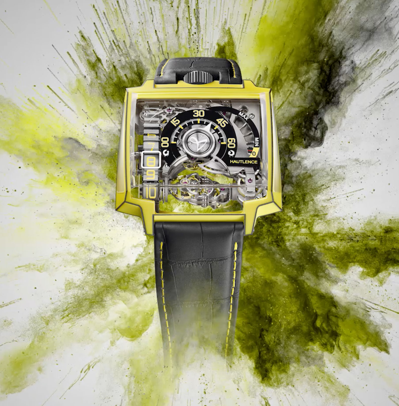 Hautelence Vortex Gamma yellow