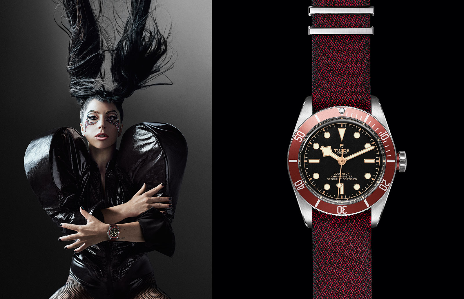 Lady Gaga Tudor Black Bay watch 2