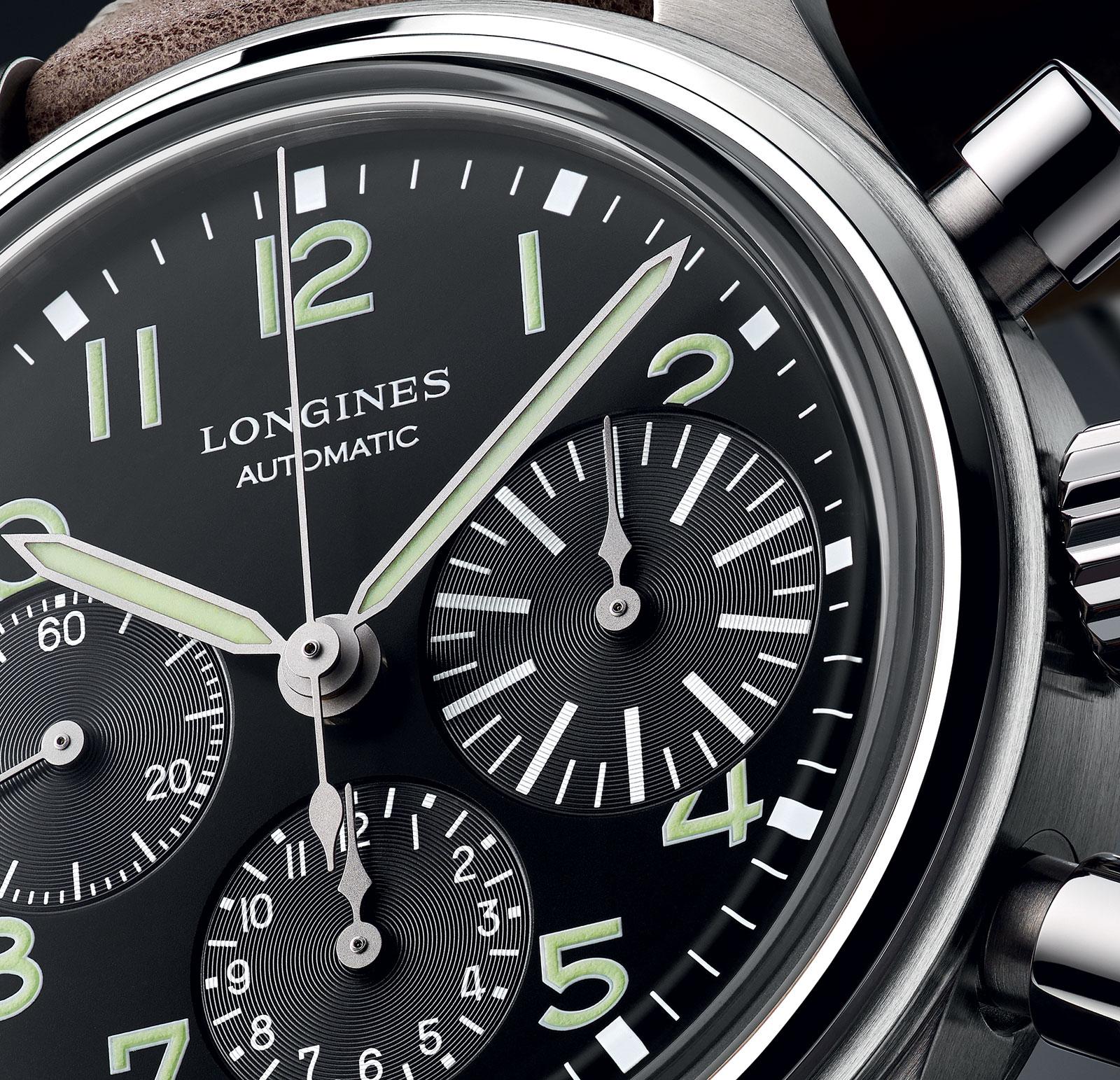 Longines Avigation BigEye chronograph 02