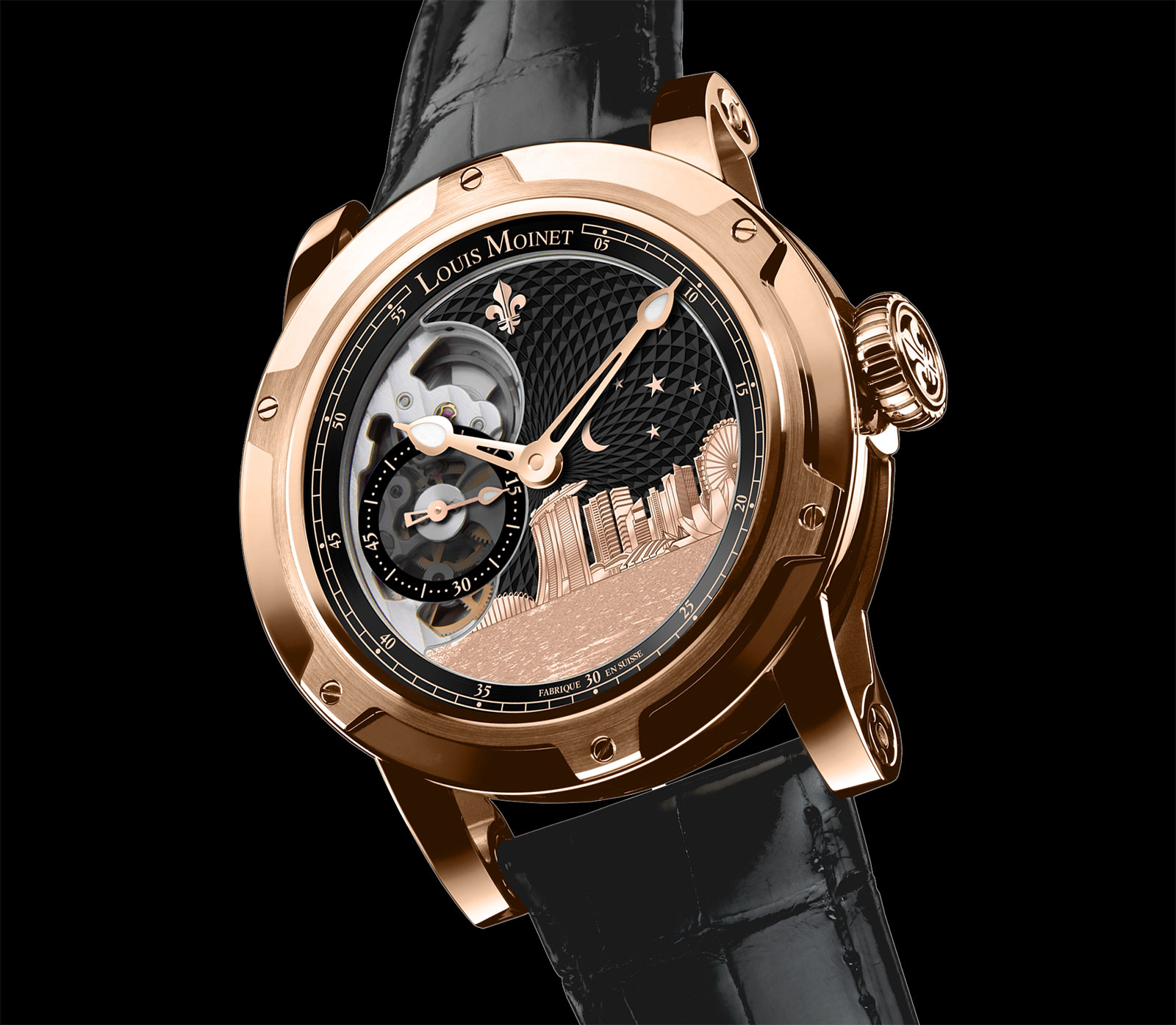 Louis Moinet Singapore Edition watch 1