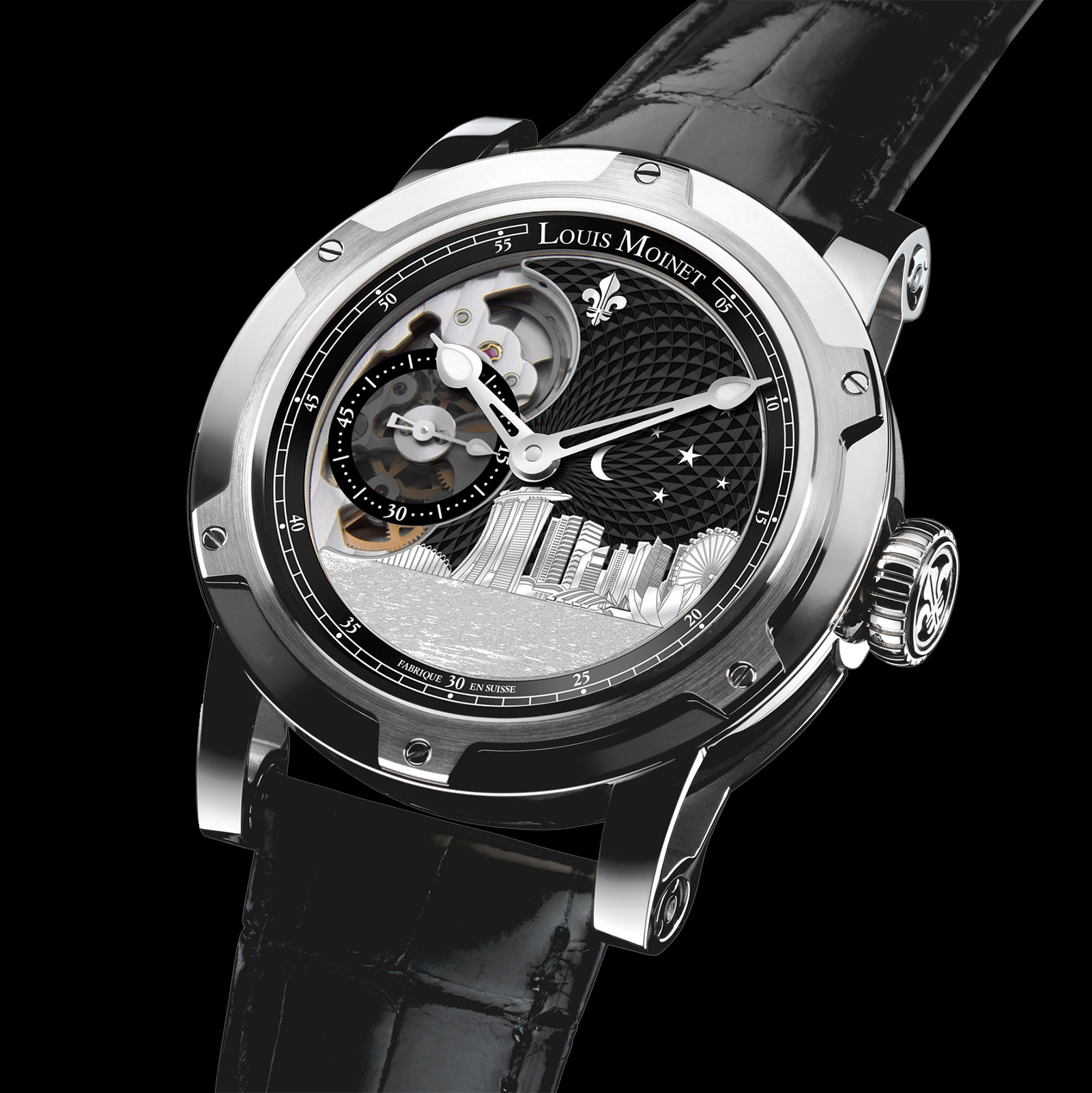 Louis Moinet Singapore Edition watch 2