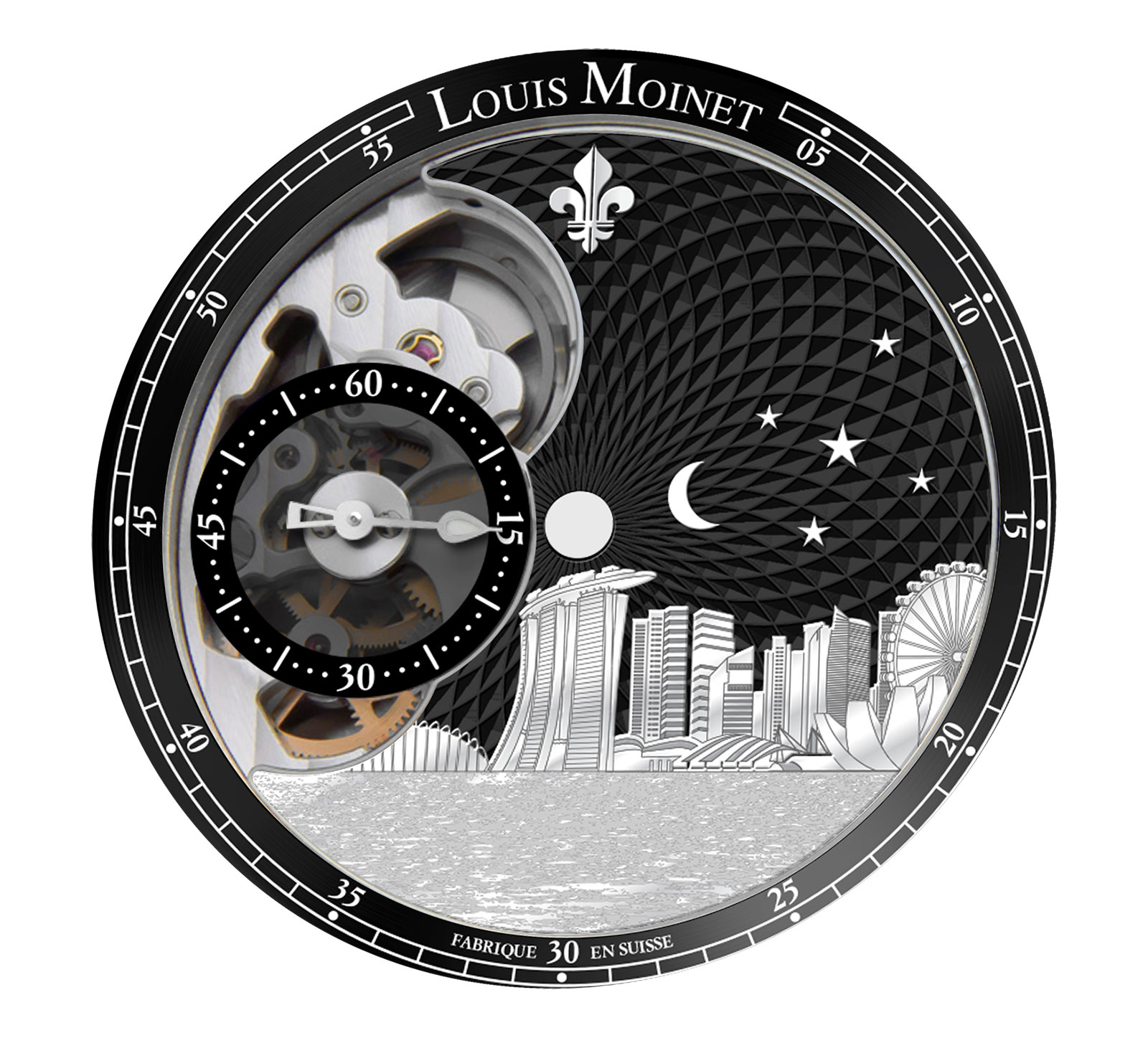 Louis Moinet Singapore Edition watch 3