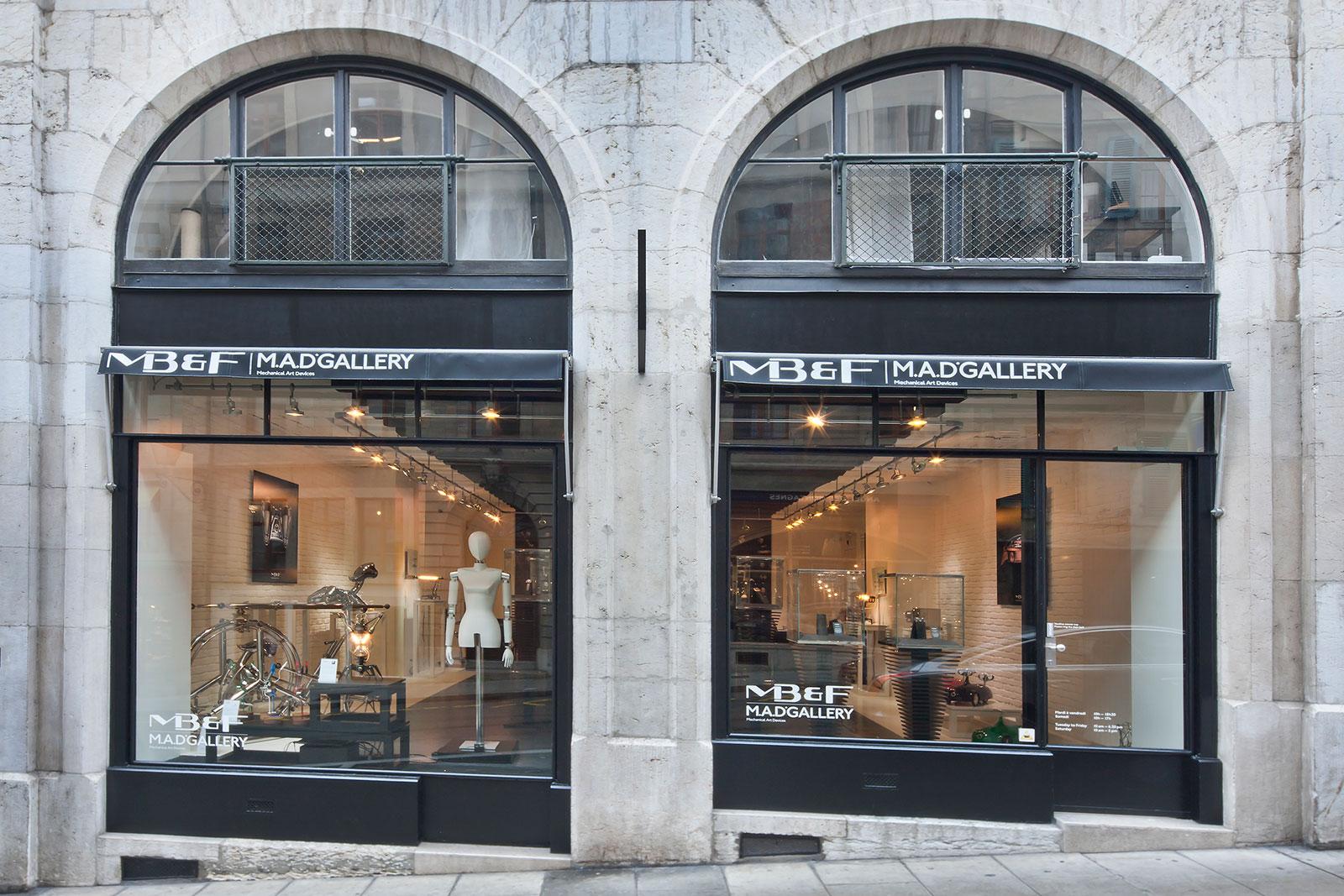 MB&F MAD Gallery Geneva 2