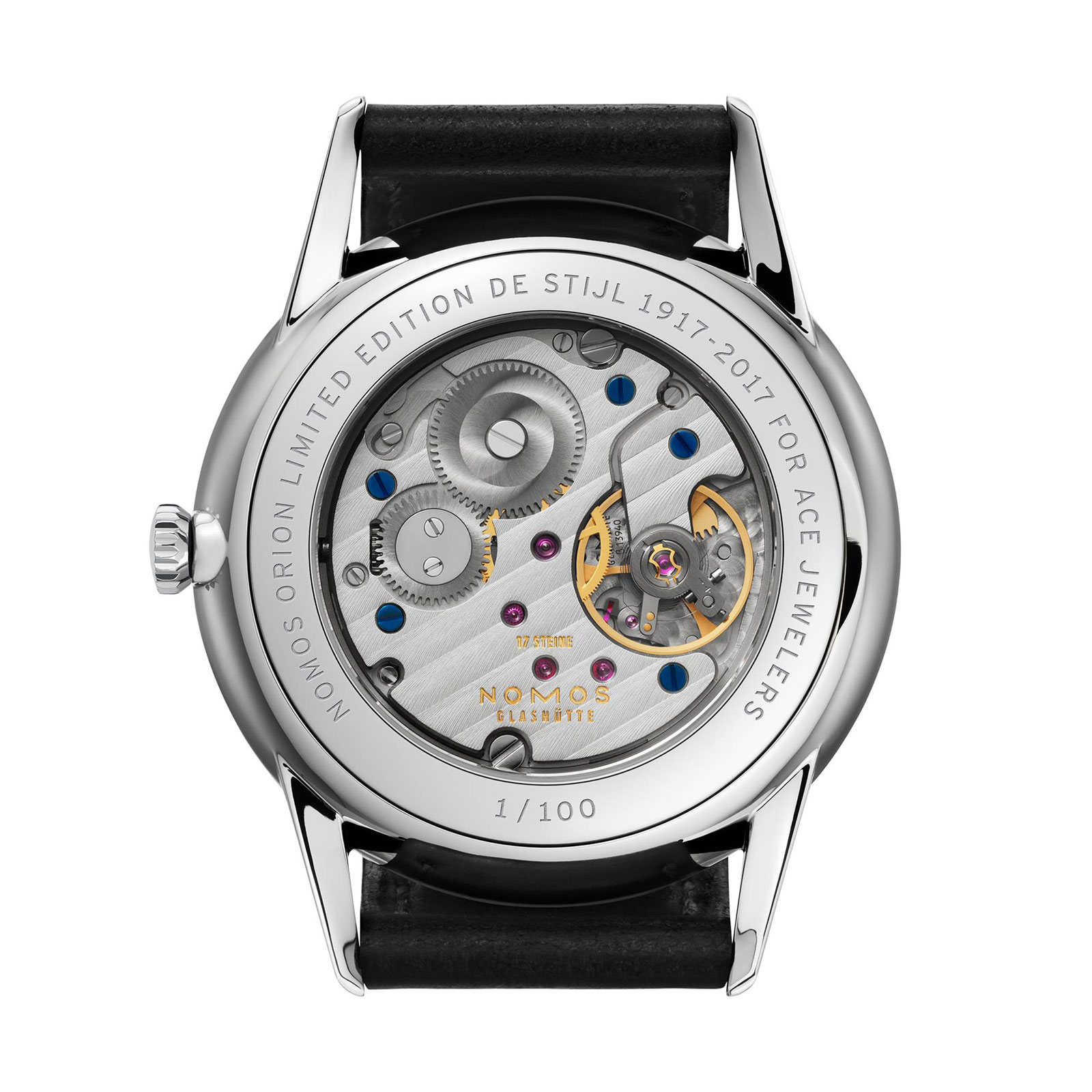 Nomos Orion 38 De Stijl Ace Jewelers back