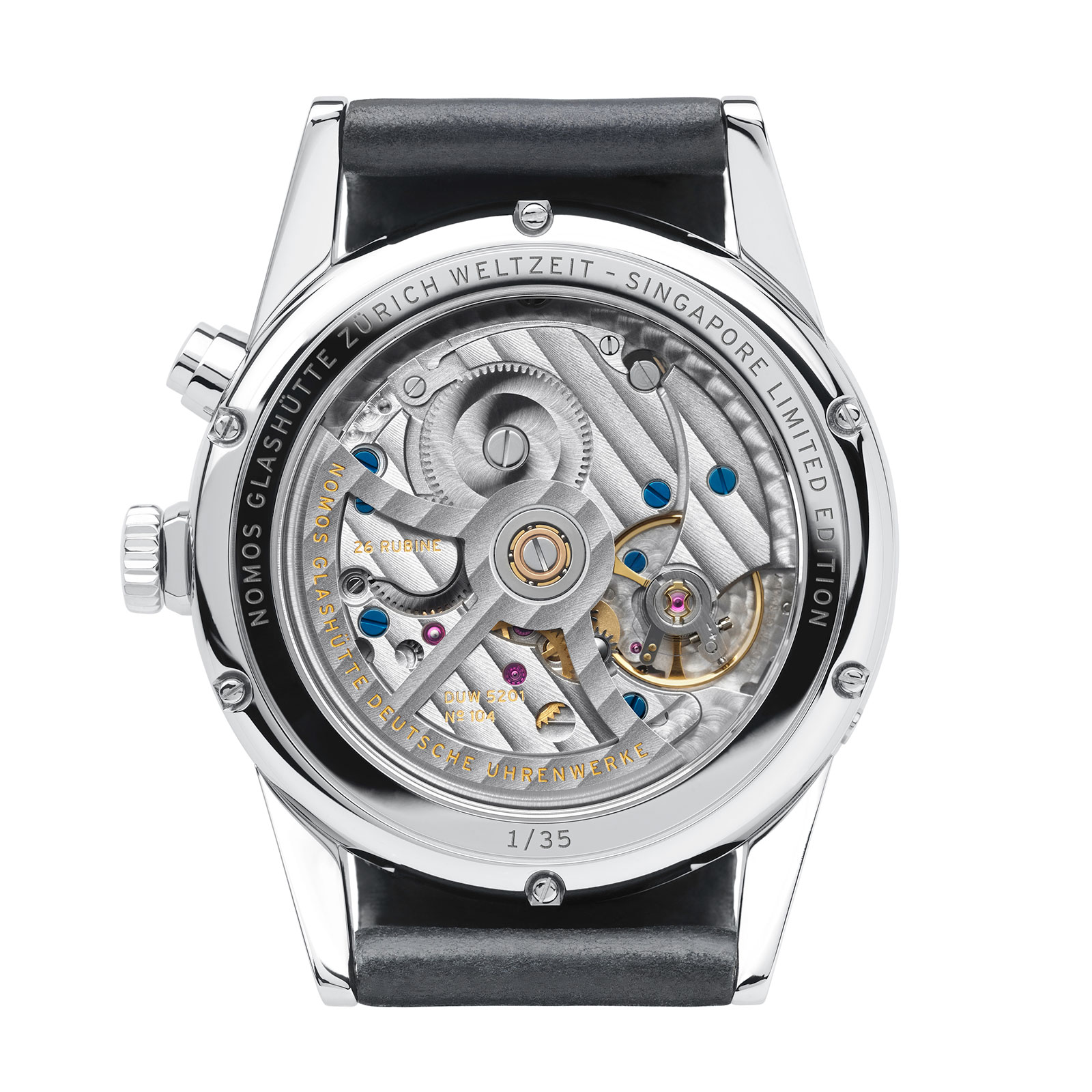 Nomos Zurich singapore Hour Glass