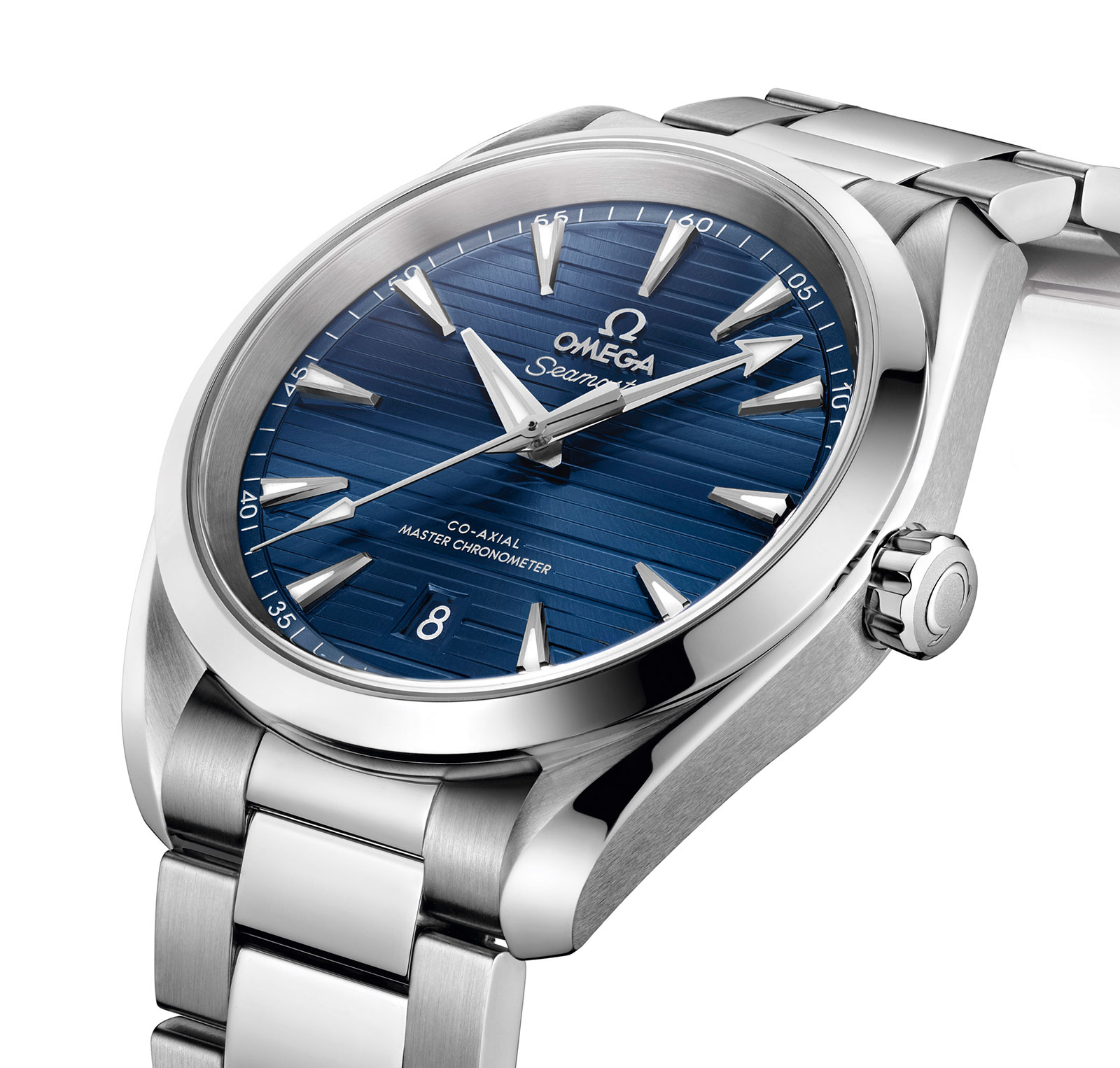 fdb30860adb Omega Aqua Terra 220.10.38.20.03.001. The automatic Aqua Terra watches are  now equipped with Master Chronometer ...