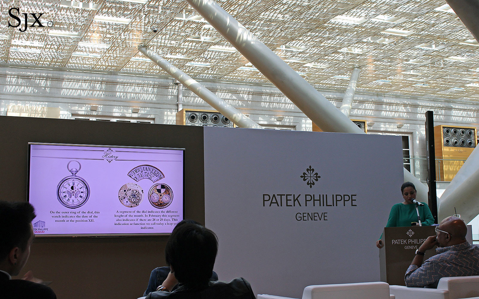 Patek Philippe perpetual calendar seminar Singapore 2017