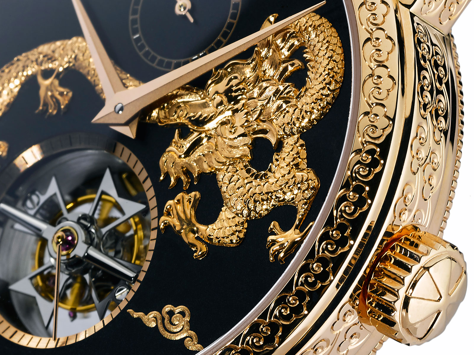 Vacheron Constantin Traditionnelle Tourbillon Dragon 5