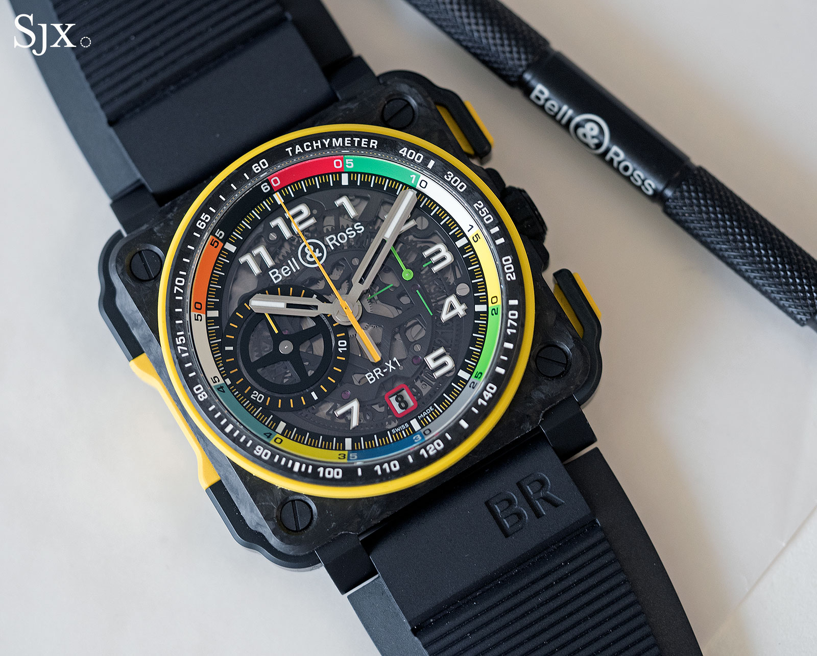 Bell Ross BR X1 RS17 chronograph 1