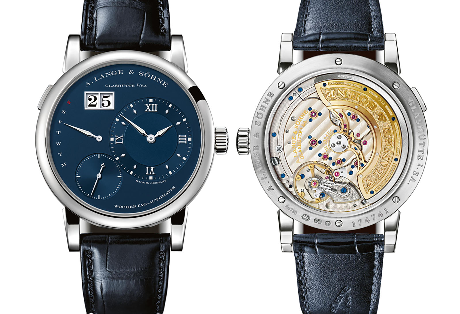 Lange Daymatic Blue Series