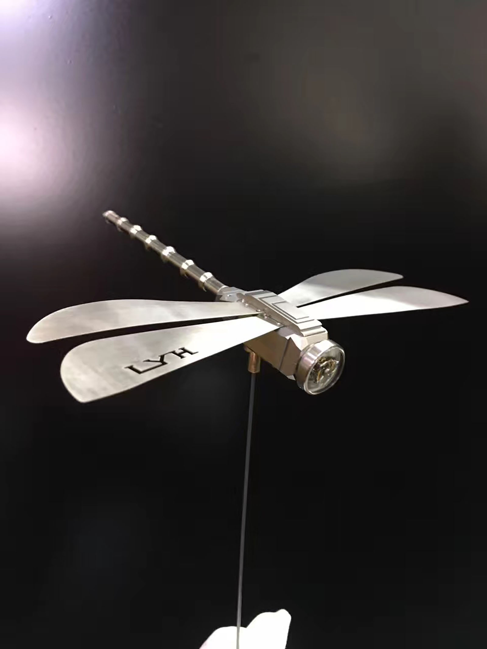 Lin Yong Hua- Dragonfly Tourbillon Installation