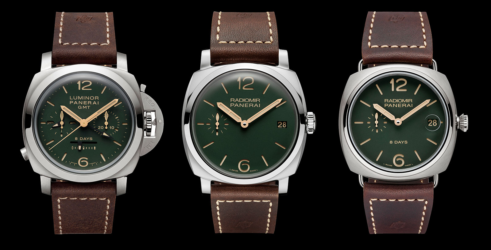 Panerai green dial boutique edition 1