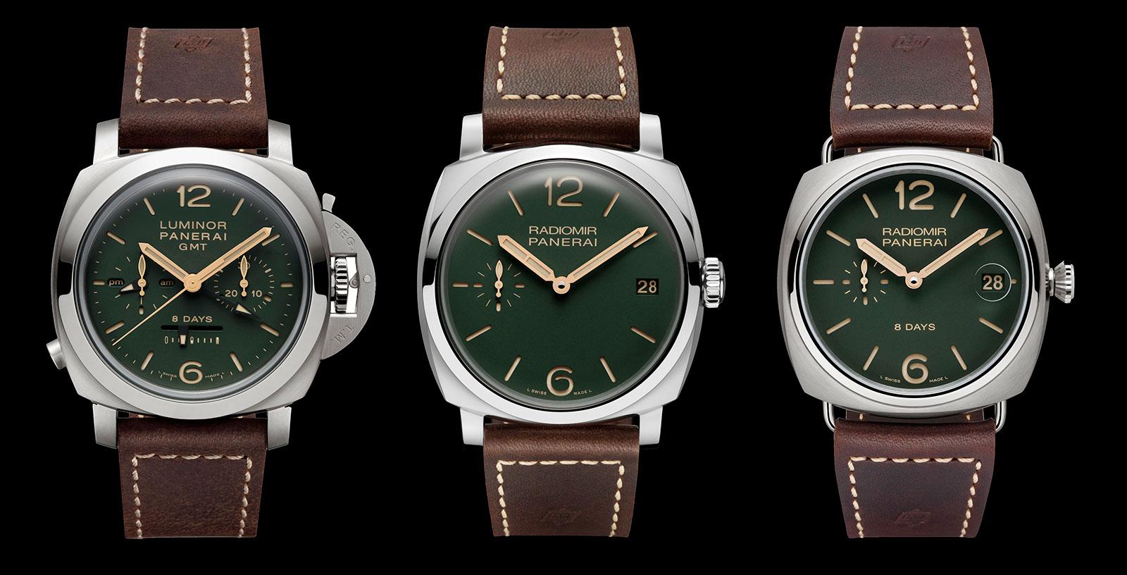 Panerai green dial boutique edition 1