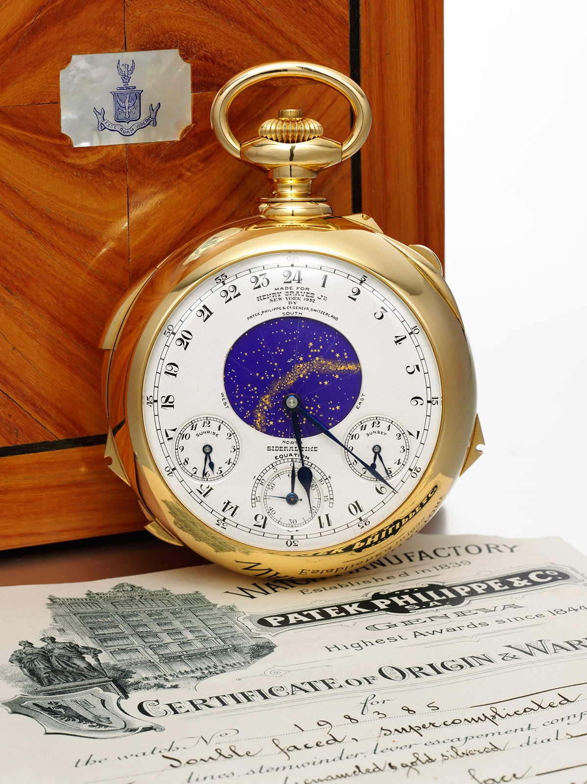 Patek Philippe Henry Graves Supercomplication 4