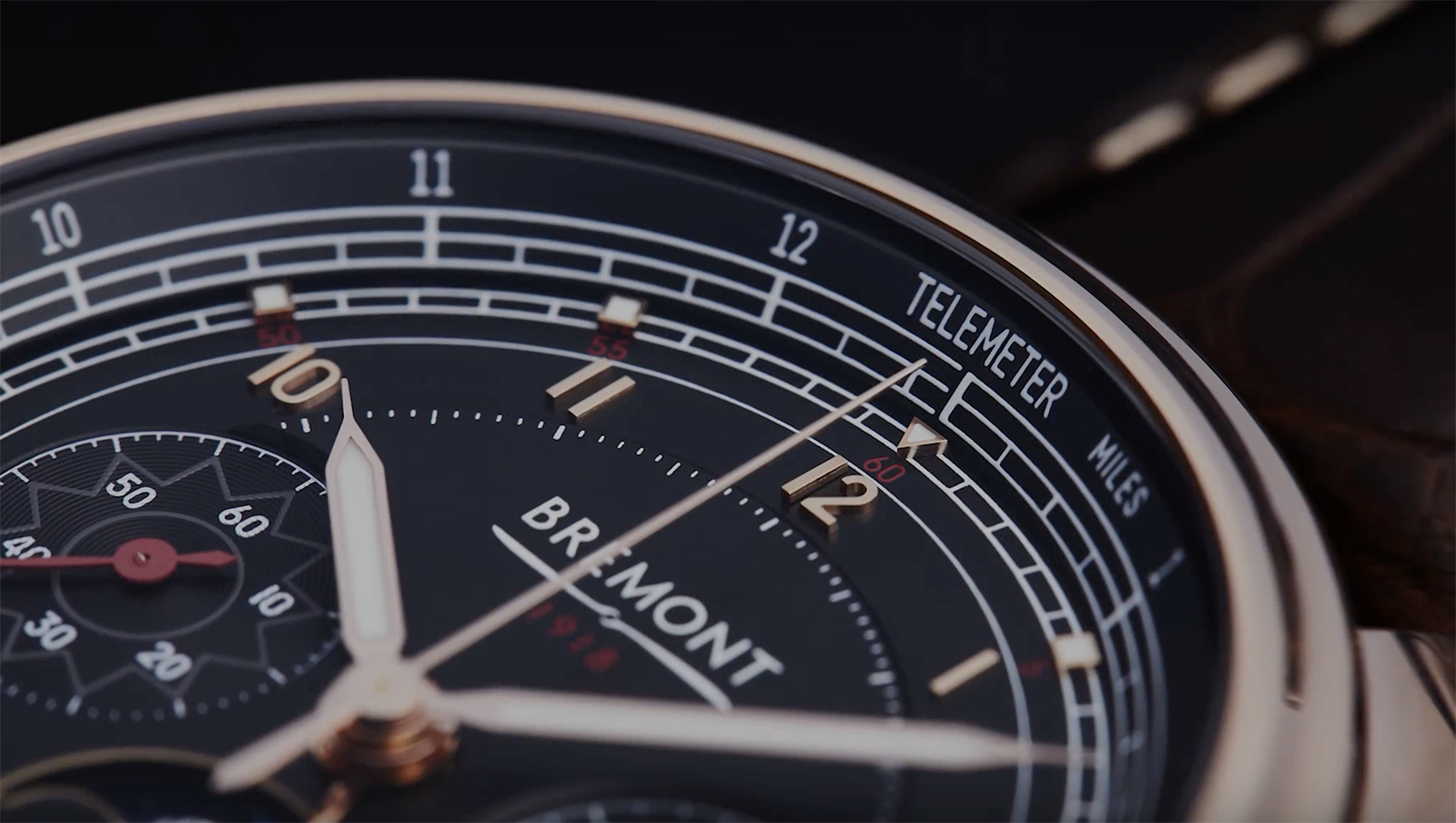 BREMONT 1918 Limited Edition RG