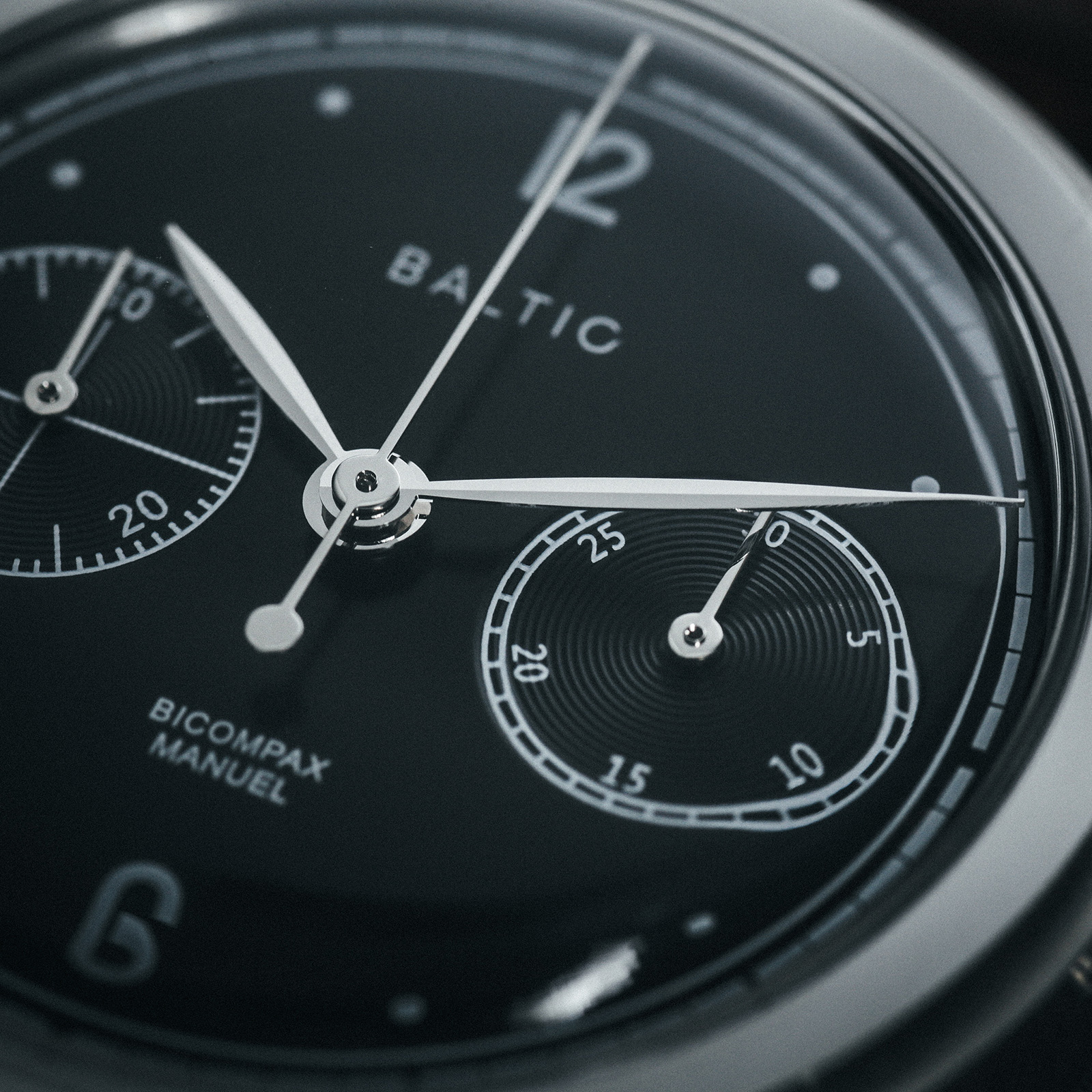 Baltic Watches BIMCOMPAX 001 Black dial