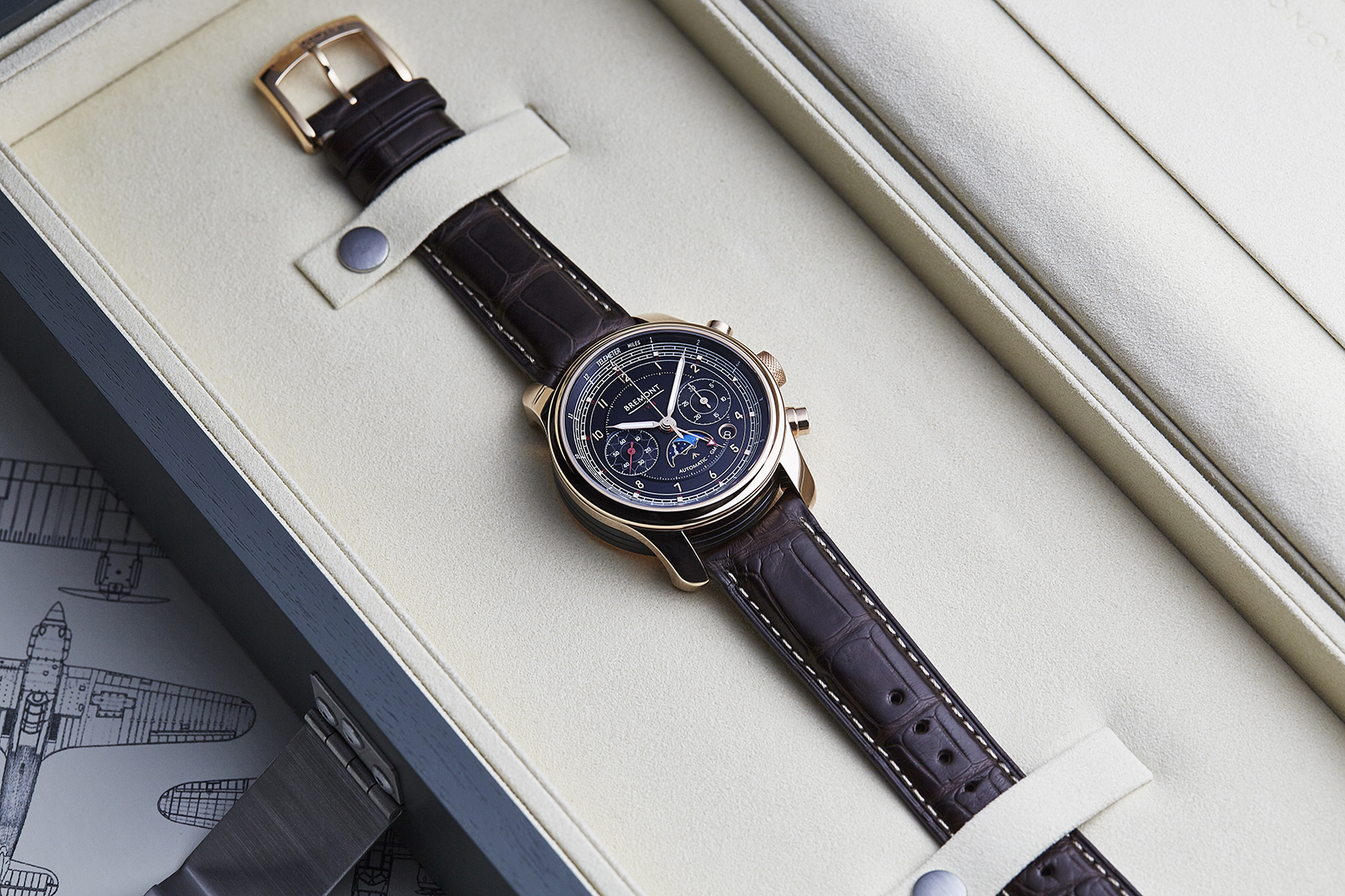 Bremont 1918 Limited Edition Chronograph RG 1