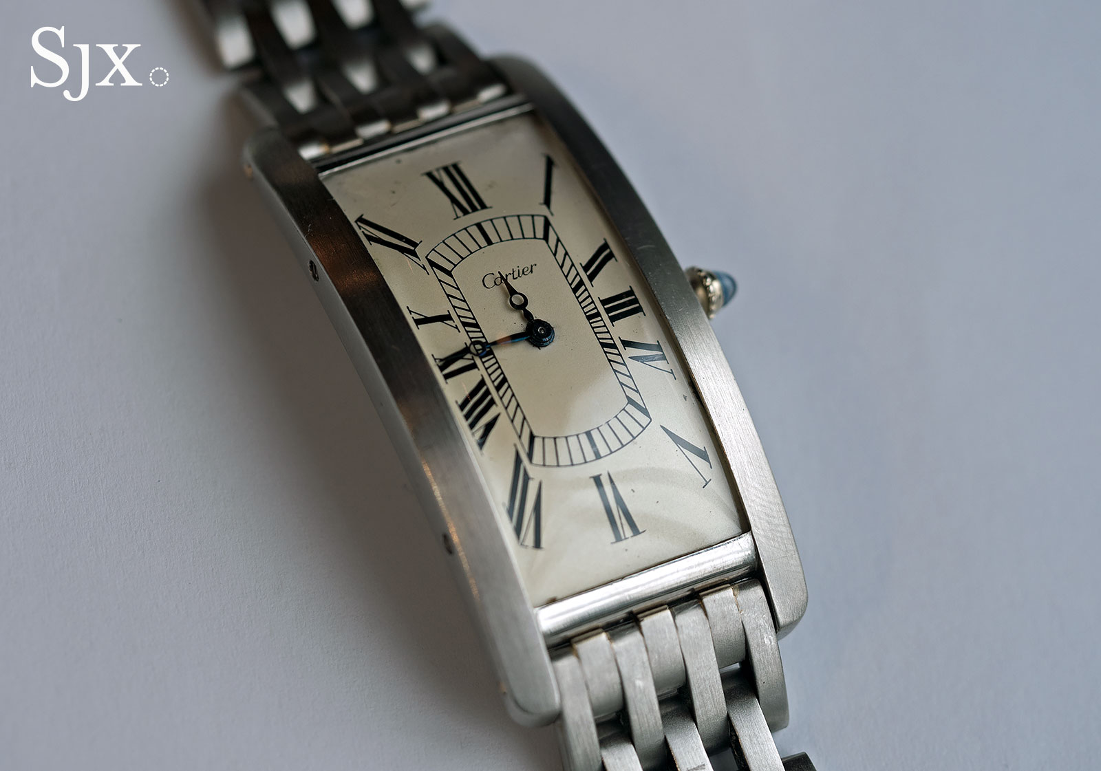 Cartier Tank Cintree Platinum Phillips 4