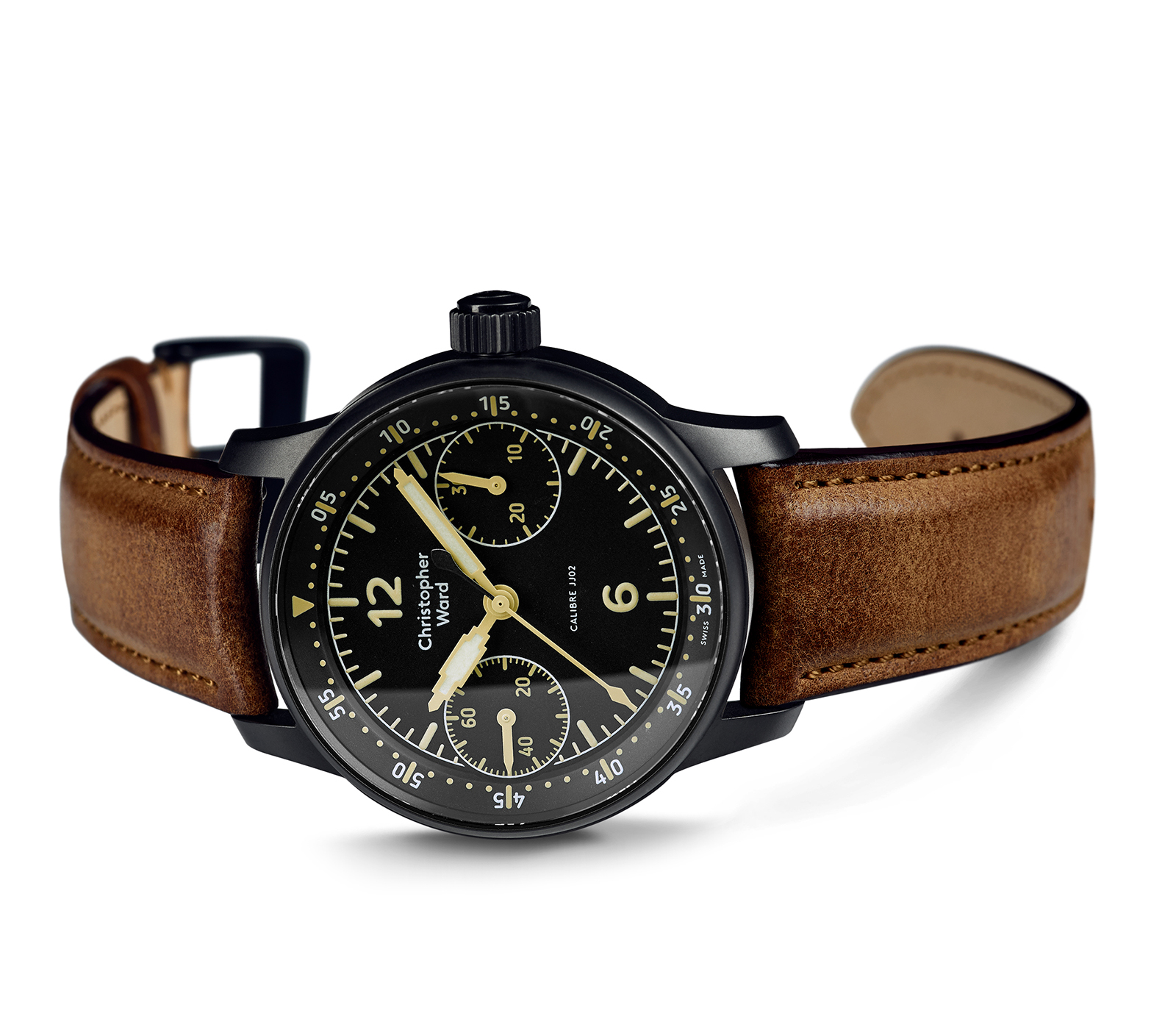 Christopher Ward C9 Me 109 Single Pusher Chronograph 1