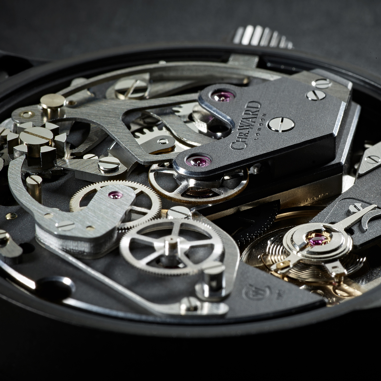 Christopher Ward C9 Me 109 Single Pusher Chronograph movement 2