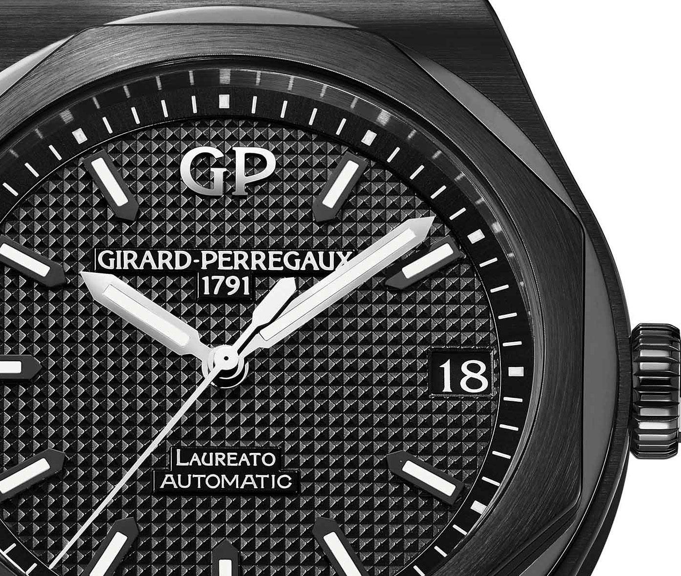 Girard-Perregaux Laureato ceramic 3