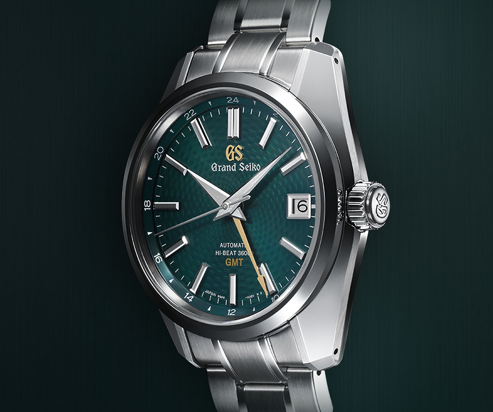 Grand Seiko Hi-beat GMT Peacock SBGJ227-1