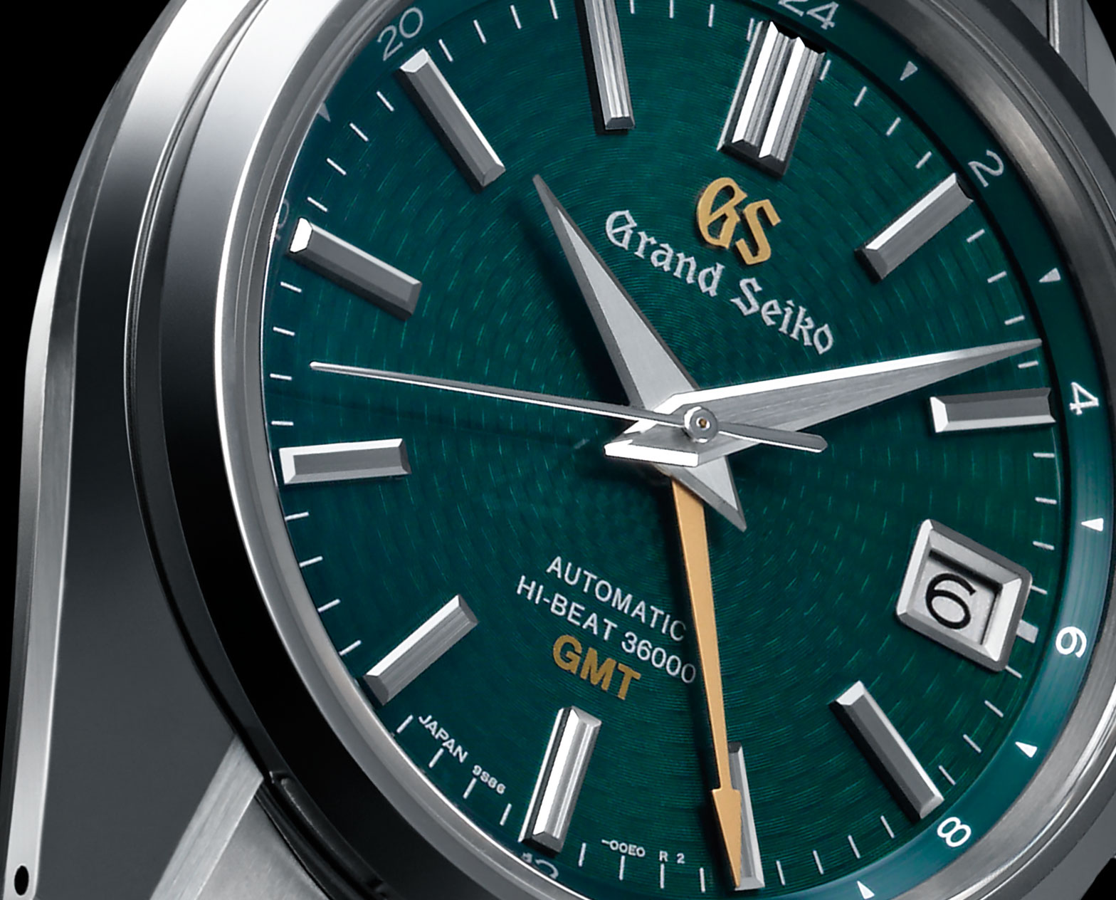 Grand Seiko Hi-beat GMT Peacock SBGJ227-3