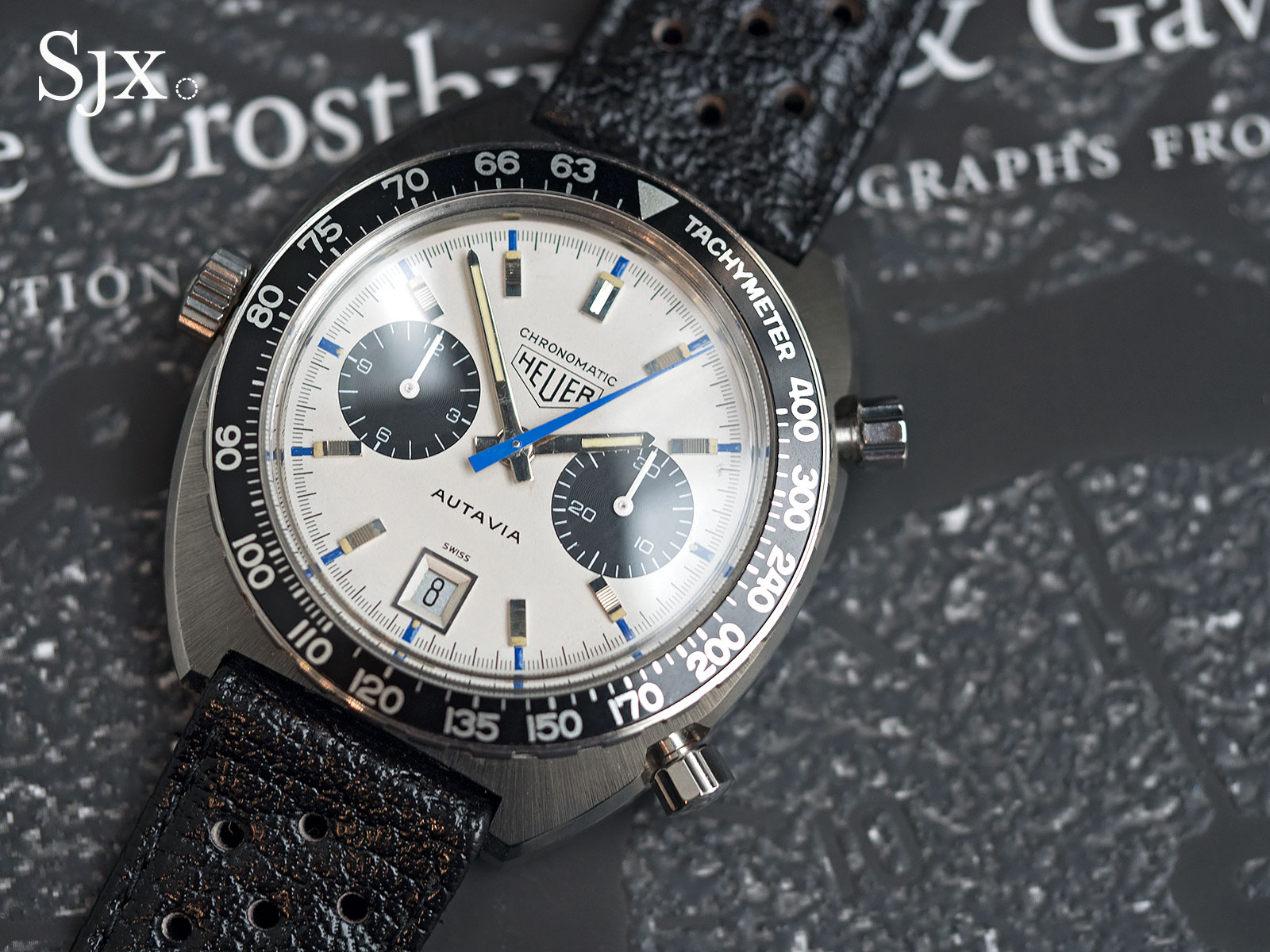 Heuer Autavia Siffert Chronomatic 1
