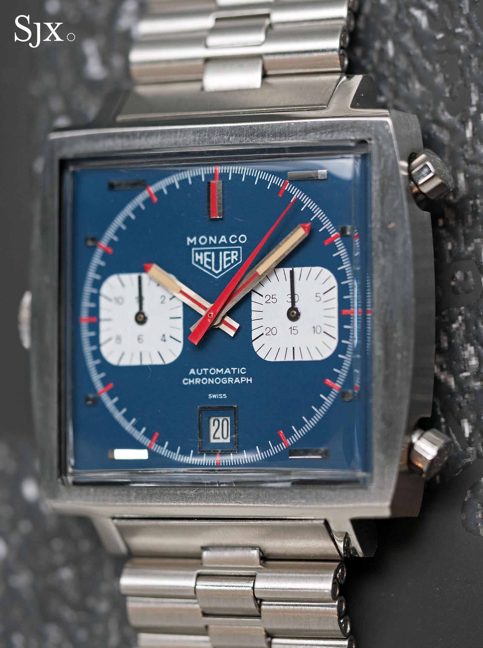 Heuer Monaco 1133B Steve McQueen 5