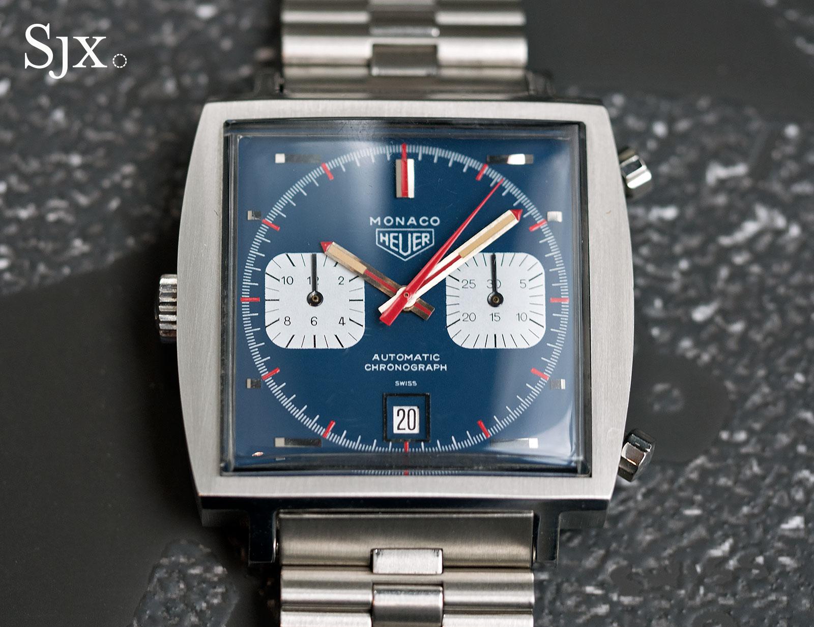 Heuer Monaco 1133B Steve McQueen 7