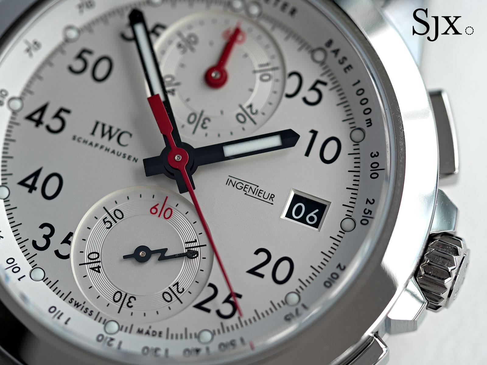 IWC Ingenieur Chronograph 50th Anniversary AMG 2