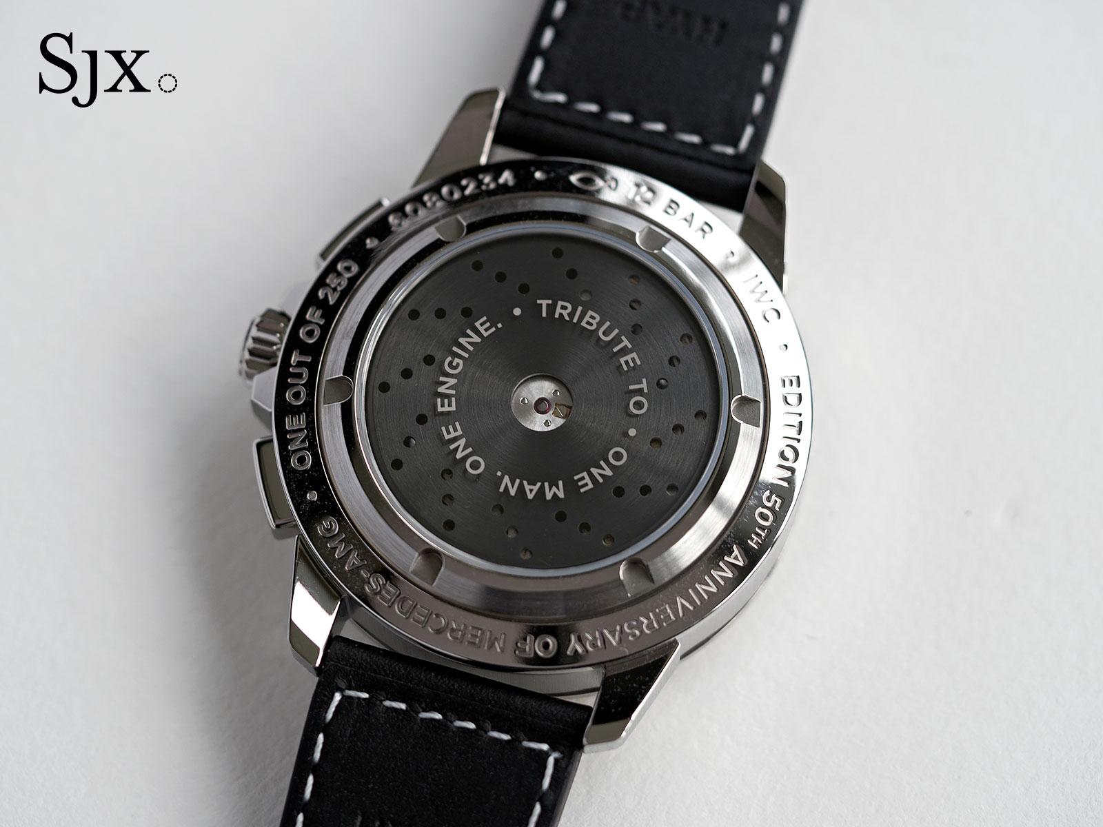 IWC Ingenieur Chronograph 50th Anniversary AMG 6