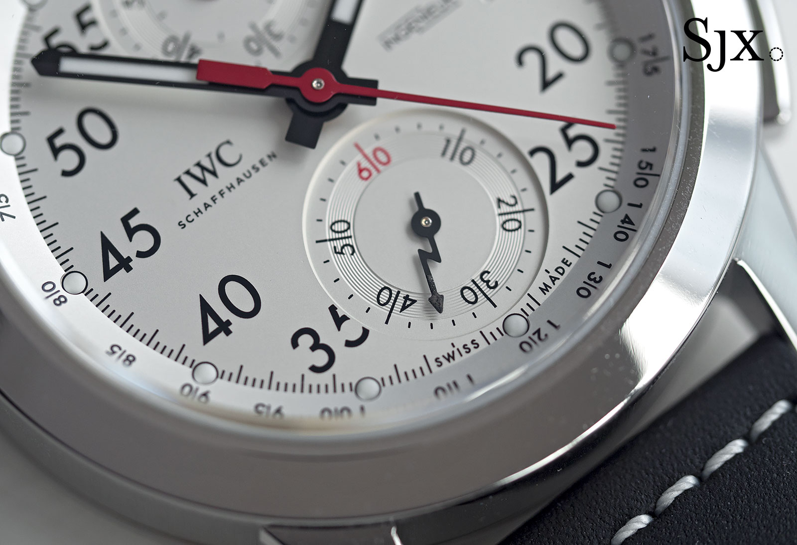 IWC Ingenieur Chronograph 50th Anniversary AMG 8