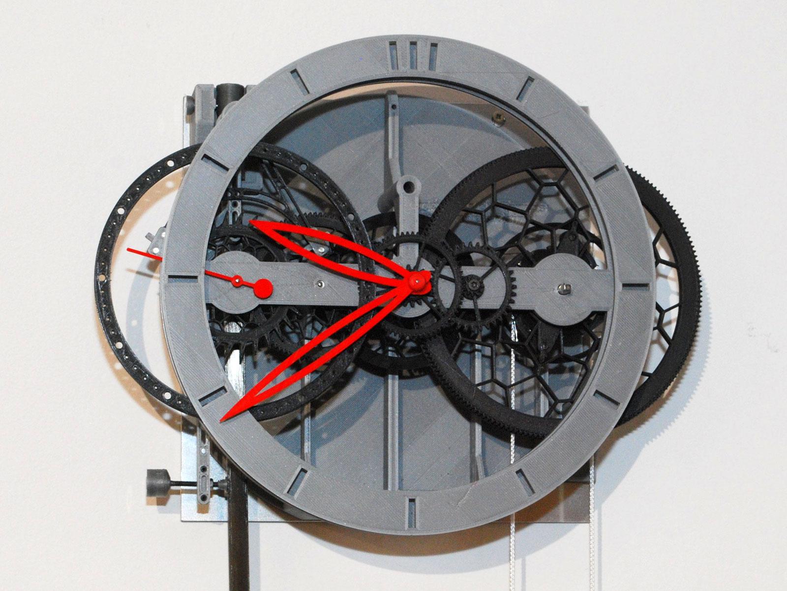 Ingénieur du Temps 3D printed pendulum clock 3